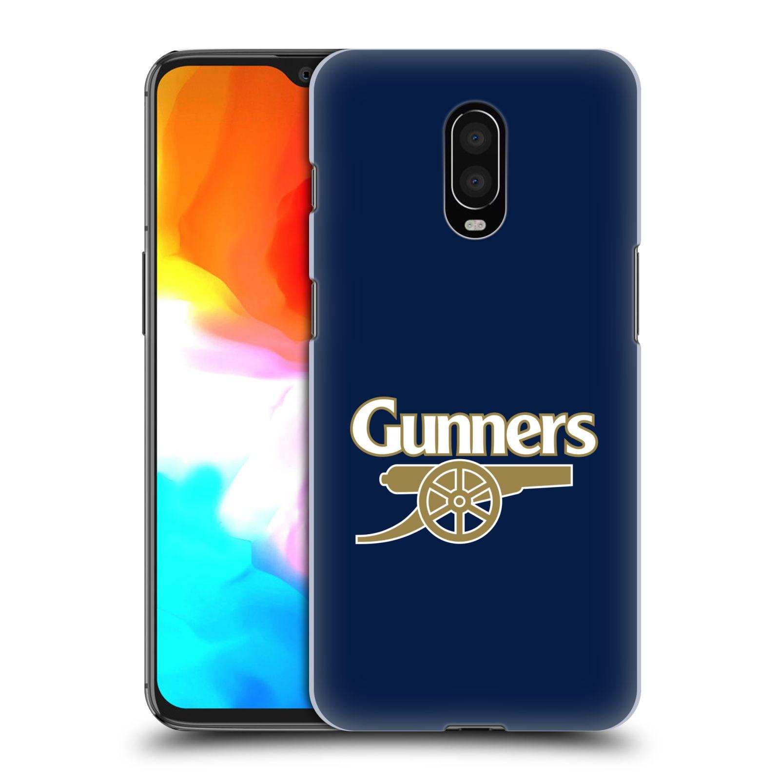 Plastové pouzdro na mobil OnePlus 6T - Head Case - Arsenal FC - Gunners