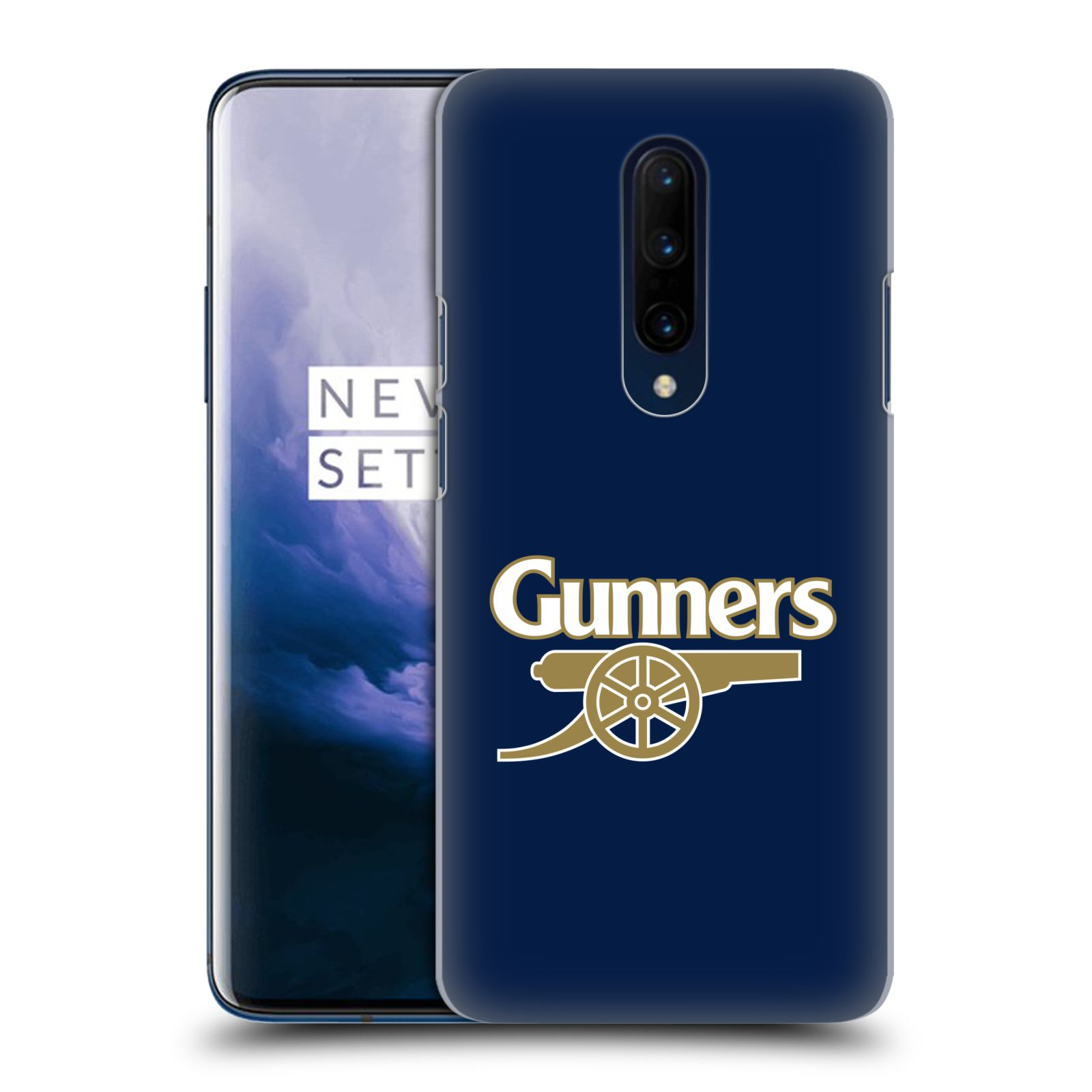 Plastové pouzdro na mobil OnePlus 7 Pro - Head Case - Arsenal FC - Gunners