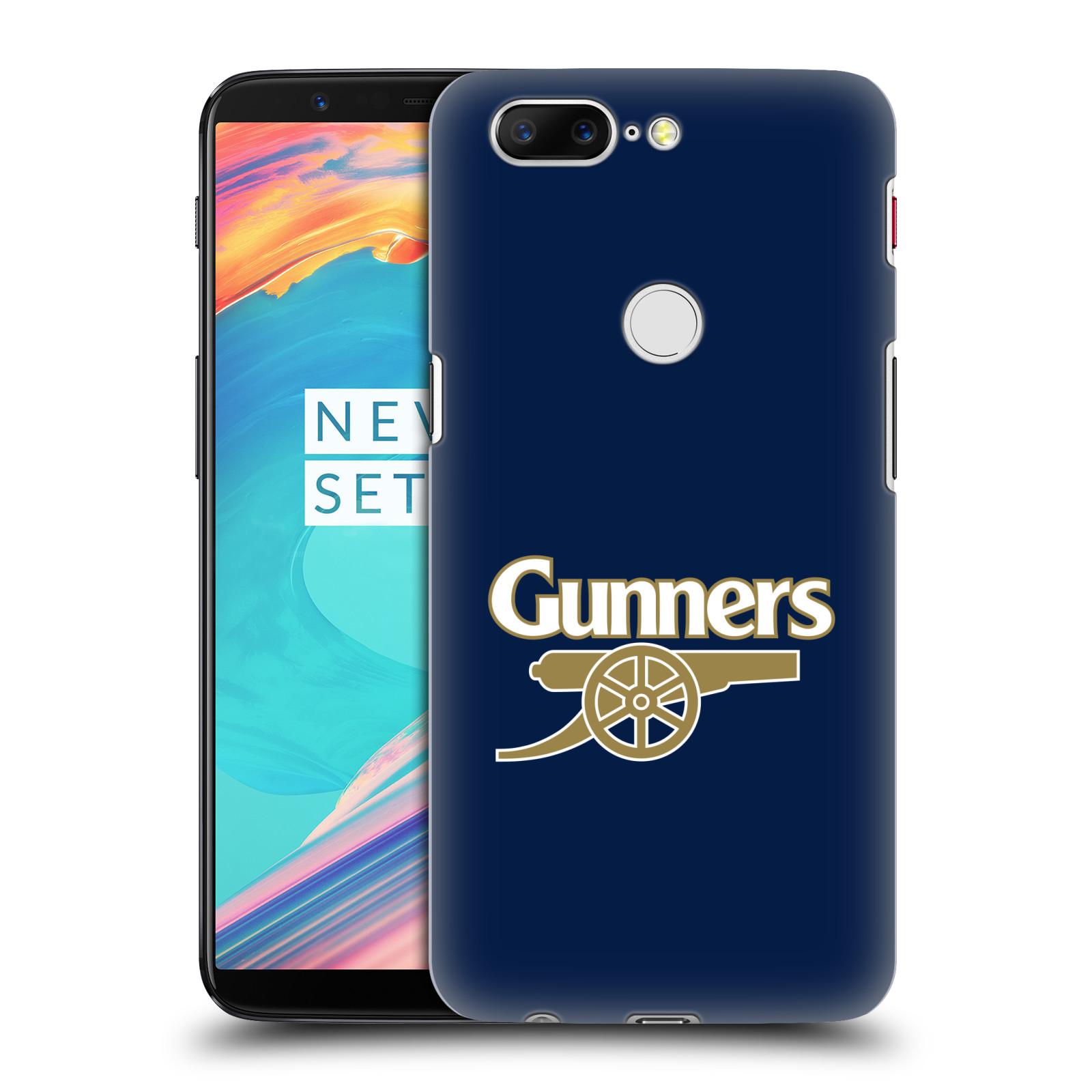 Plastové pouzdro na mobil OnePlus 5T - Head Case - Arsenal FC - Gunners