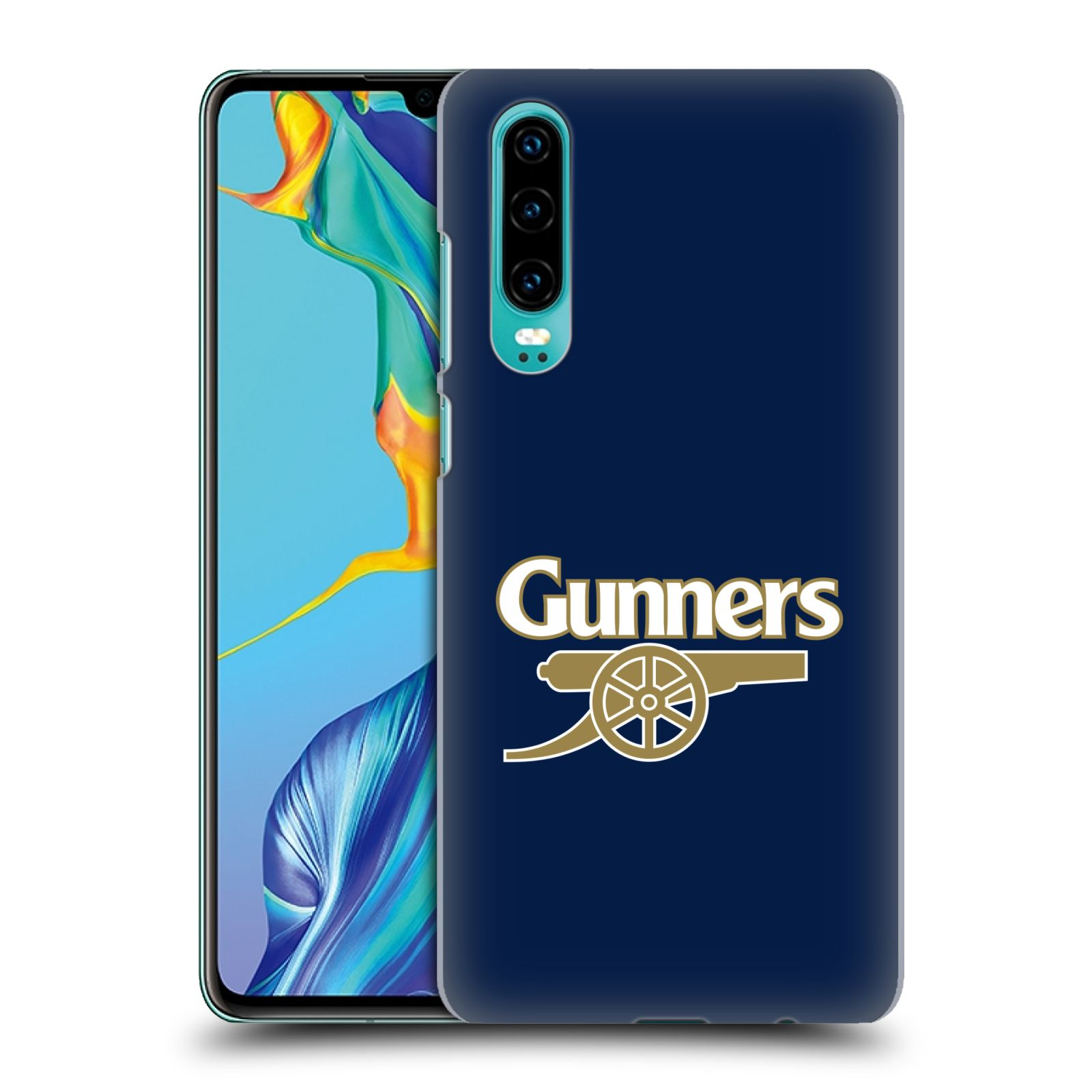 Plastové pouzdro na mobil Huawei P30 - Head Case - Arsenal FC - Gunners