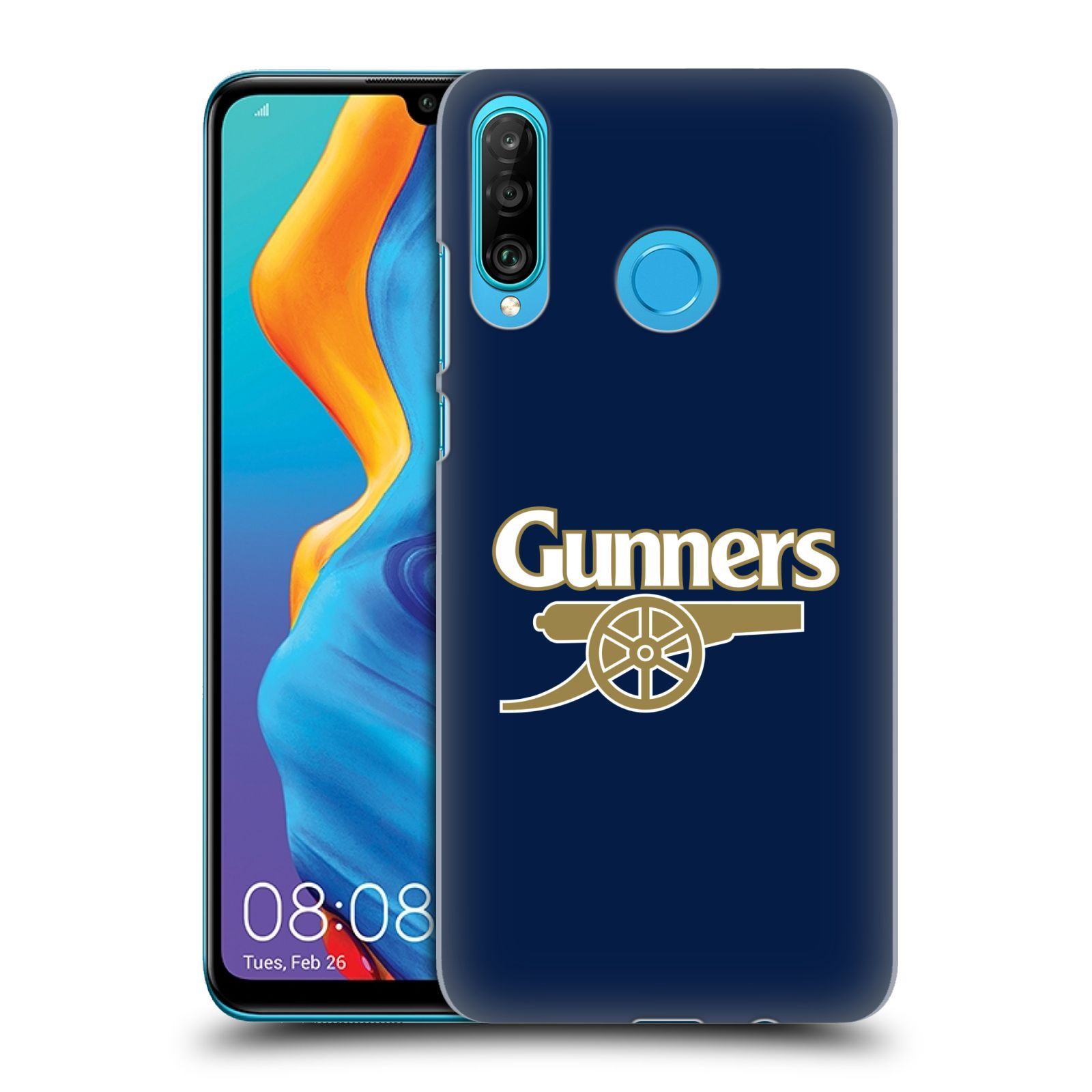 Plastové pouzdro na mobil Huawei P30 Lite - Head Case - Arsenal FC - Gunners