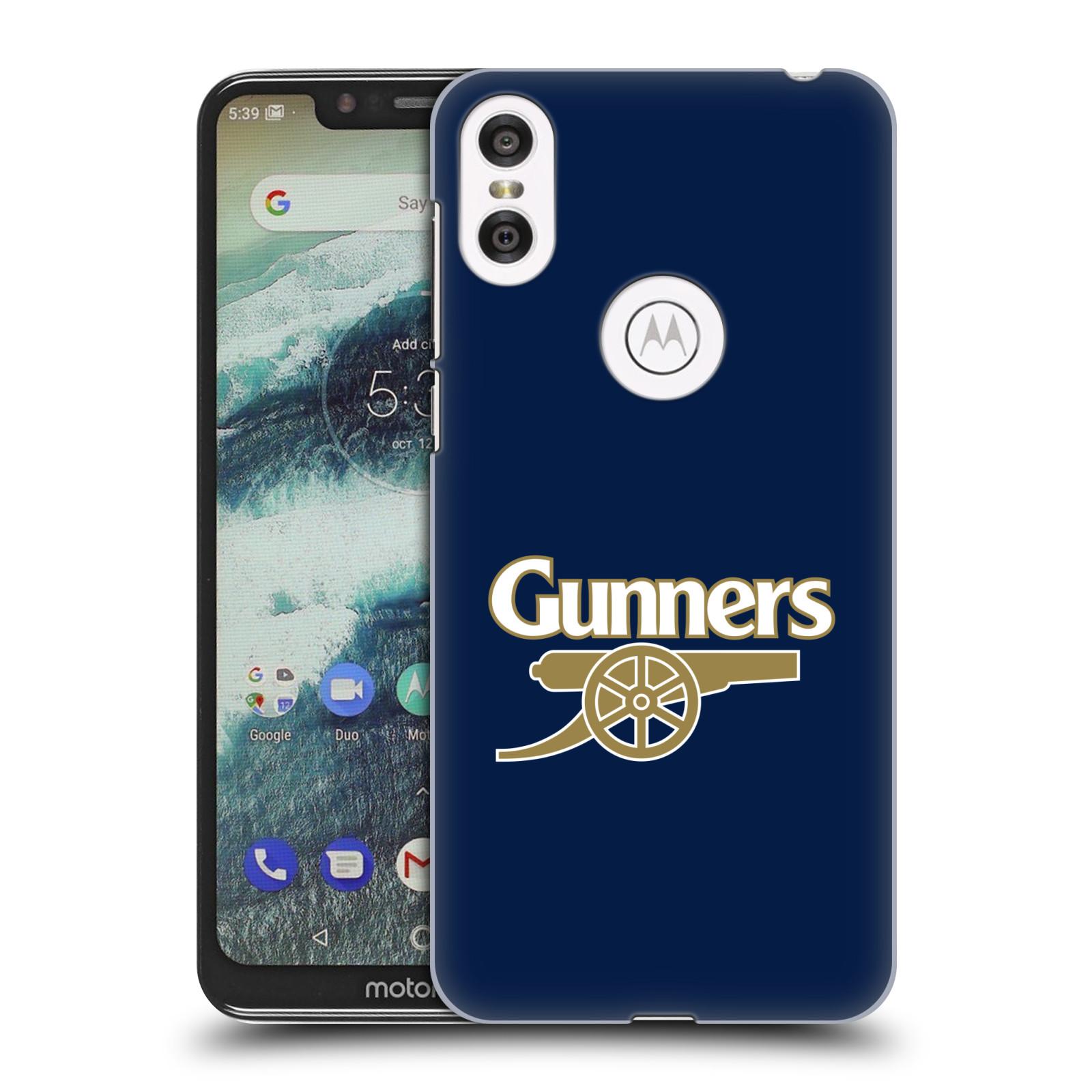 Plastové pouzdro na mobil Motorola One - Head Case - Arsenal FC - Gunners