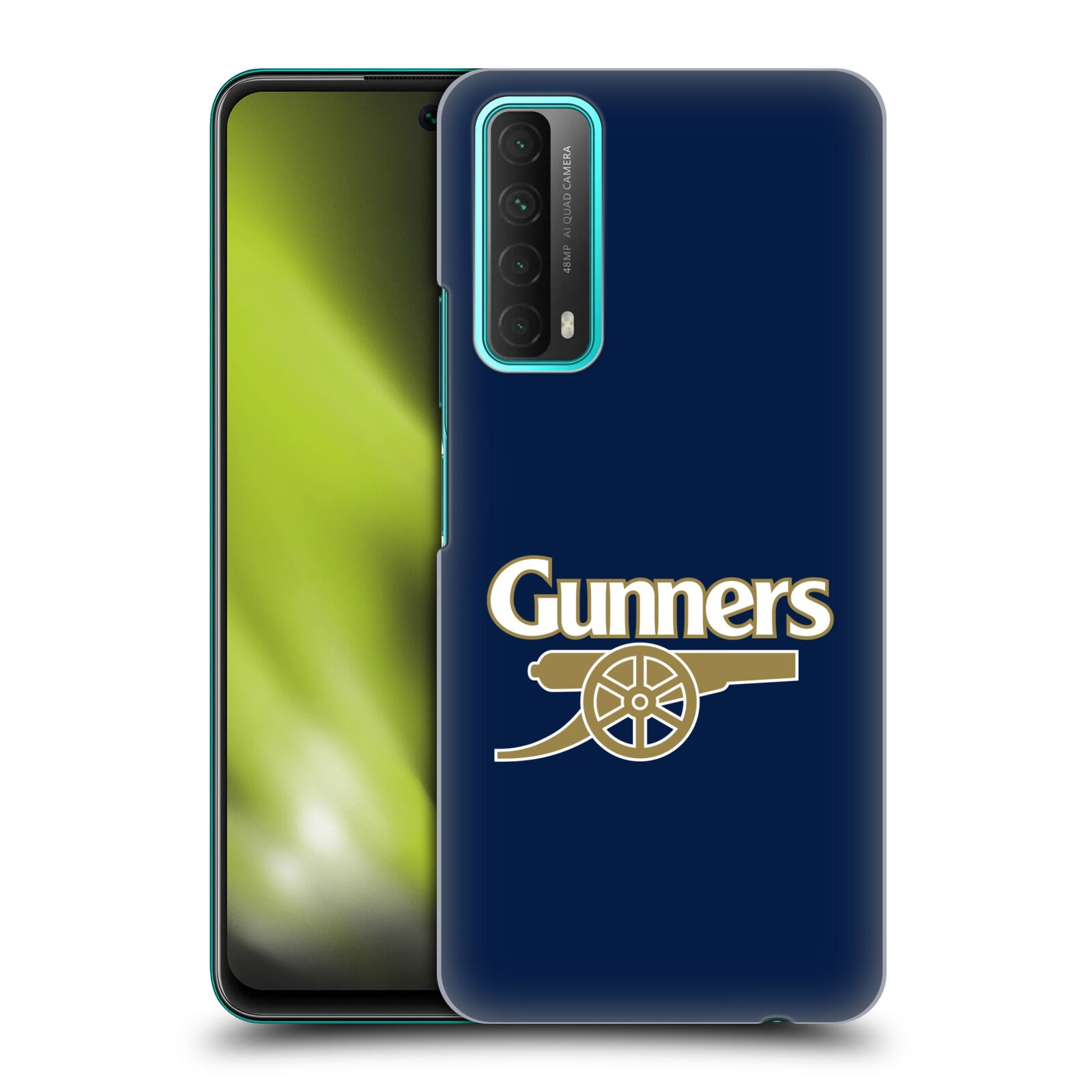 Plastové pouzdro na mobil Huawei P Smart (2021) - Head Case - Arsenal FC - Gunners