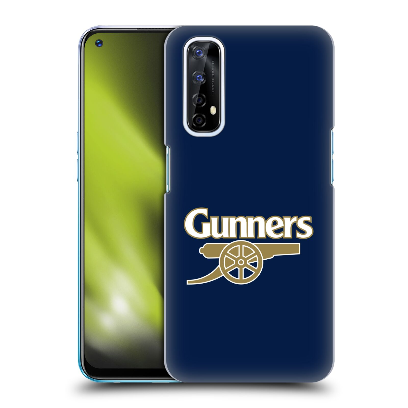 Plastové pouzdro na mobil Realme 7 - Head Case - Arsenal FC - Gunners