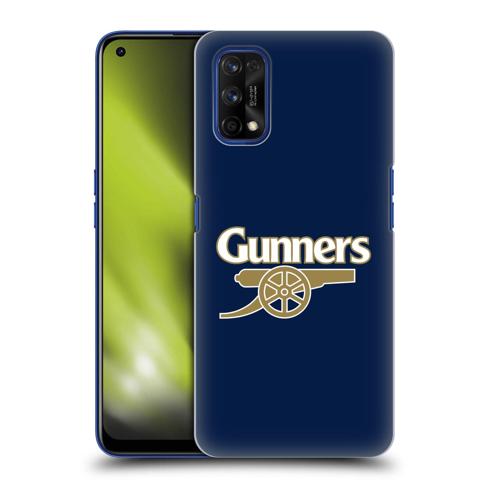 Plastové pouzdro na mobil Realme 7 Pro - Head Case - Arsenal FC - Gunners