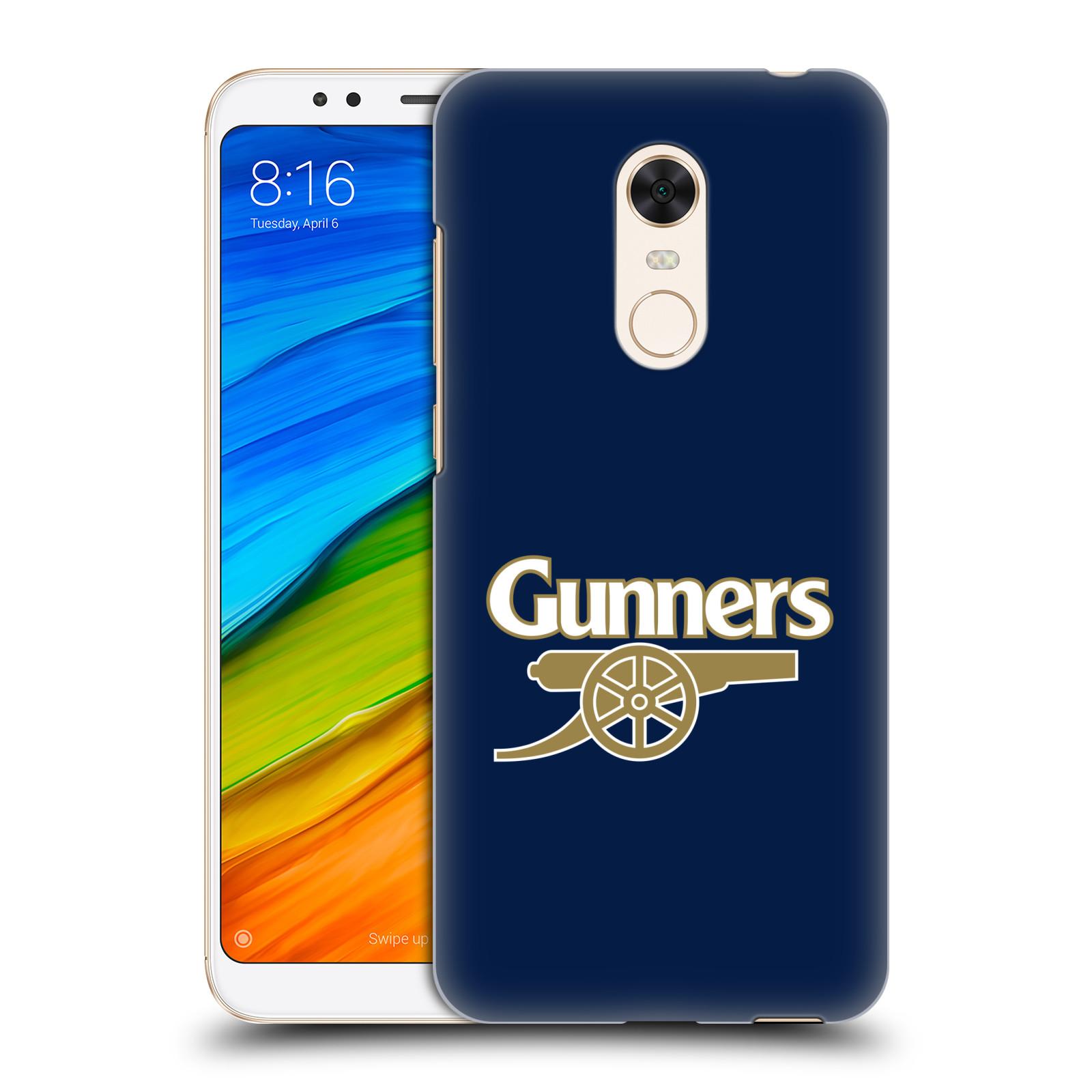 Plastové pouzdro na mobil Xiaomi Redmi 5 Plus - Head Case - Arsenal FC - Gunners