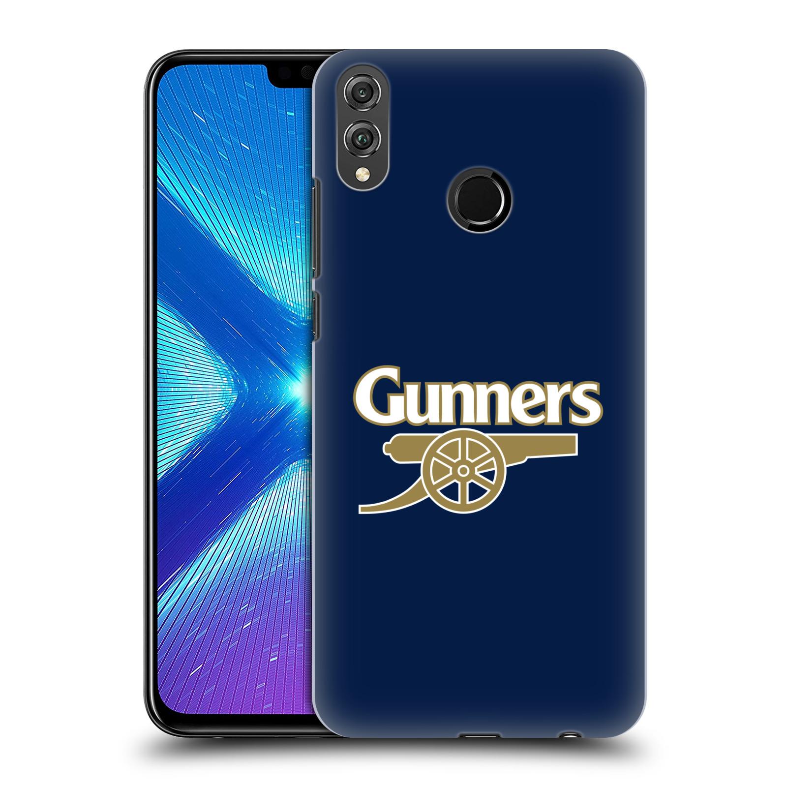 Plastové pouzdro na mobil Honor 8X - Head Case - Arsenal FC - Gunners