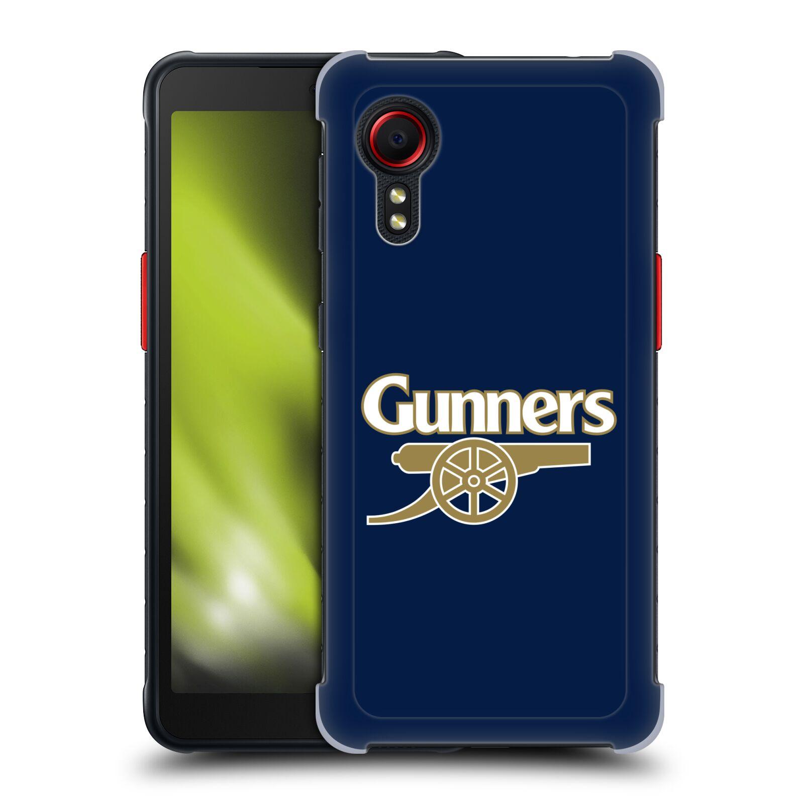 Plastové pouzdro na mobil Samsung Galaxy Xcover 5 - Head Case - Arsenal FC - Gunners