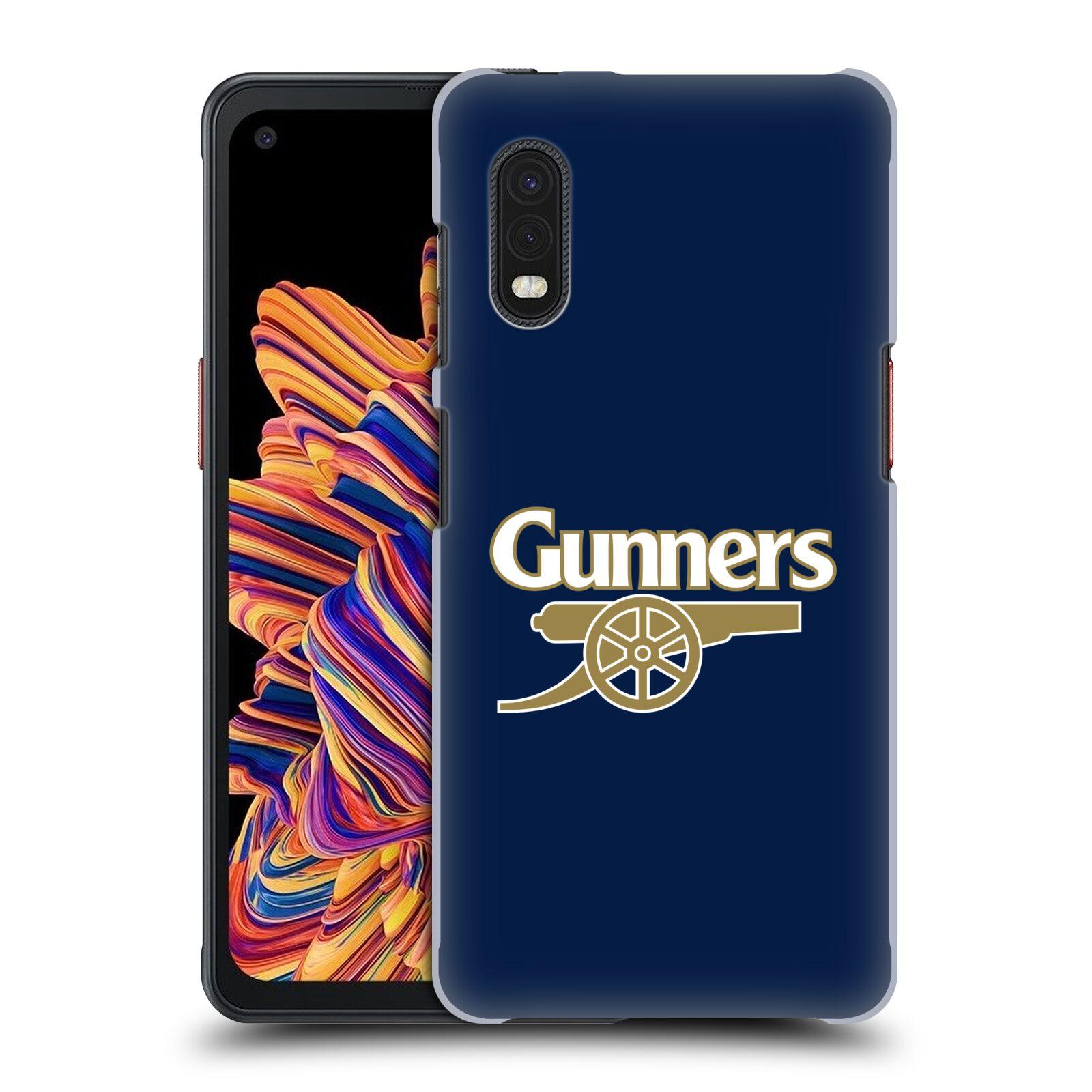 Plastové pouzdro na mobil Samsung Galaxy Xcover Pro - Head Case - Arsenal FC - Gunners