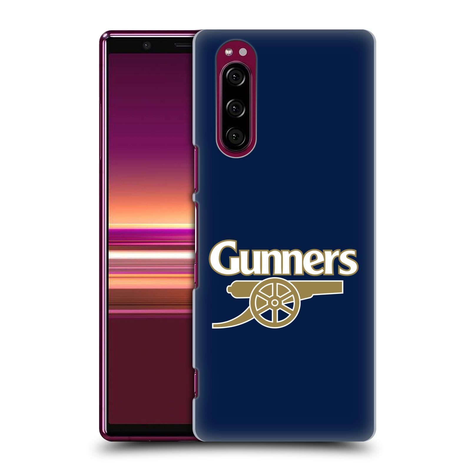 Plastové pouzdro na mobil Sony Xperia 5 - Head Case - Arsenal FC - Gunners