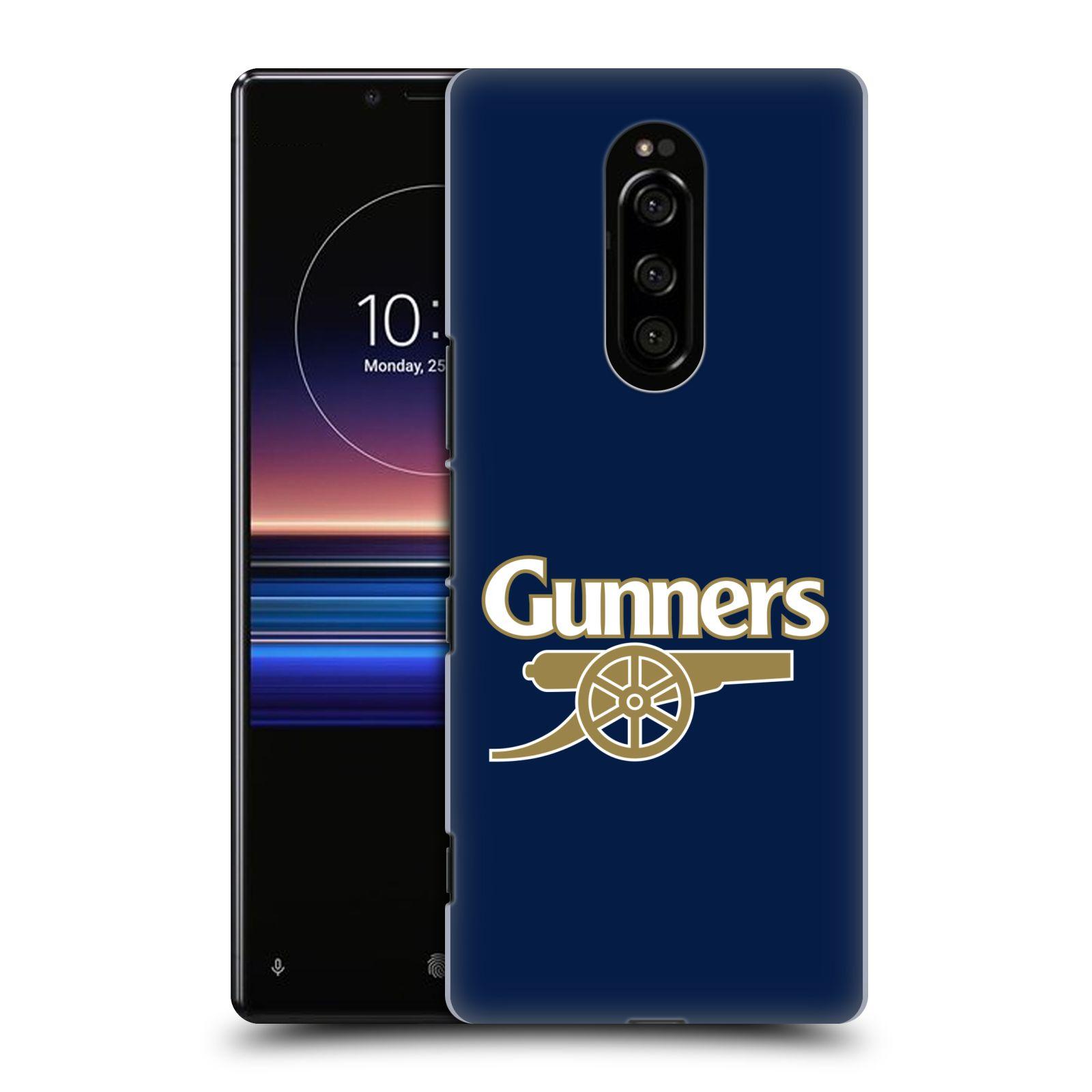 Plastové pouzdro na mobil Sony Xperia 1 - Head Case - Arsenal FC - Gunners