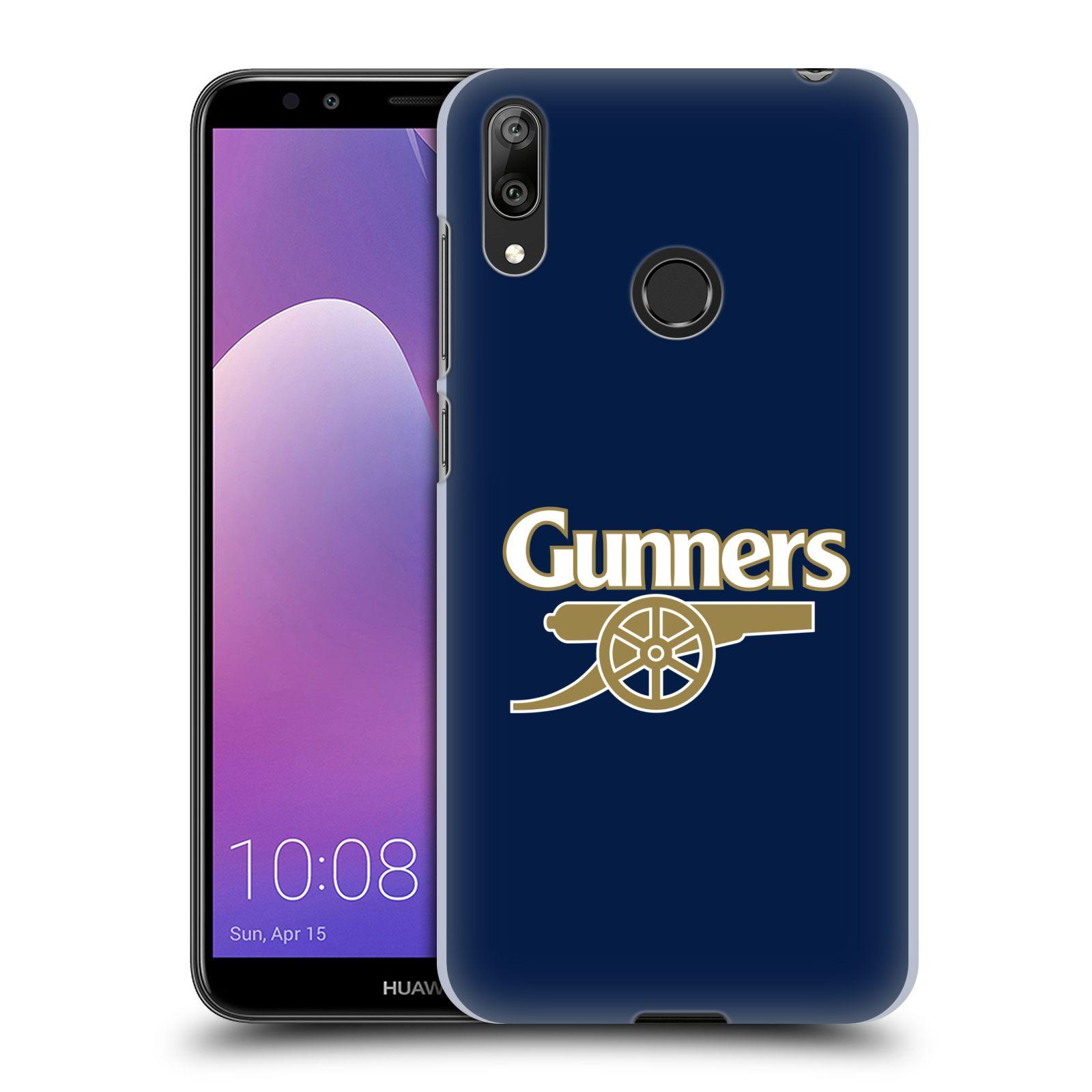 Plastové pouzdro na mobil Huawei Y7 (2019) - Head Case - Arsenal FC - Gunners