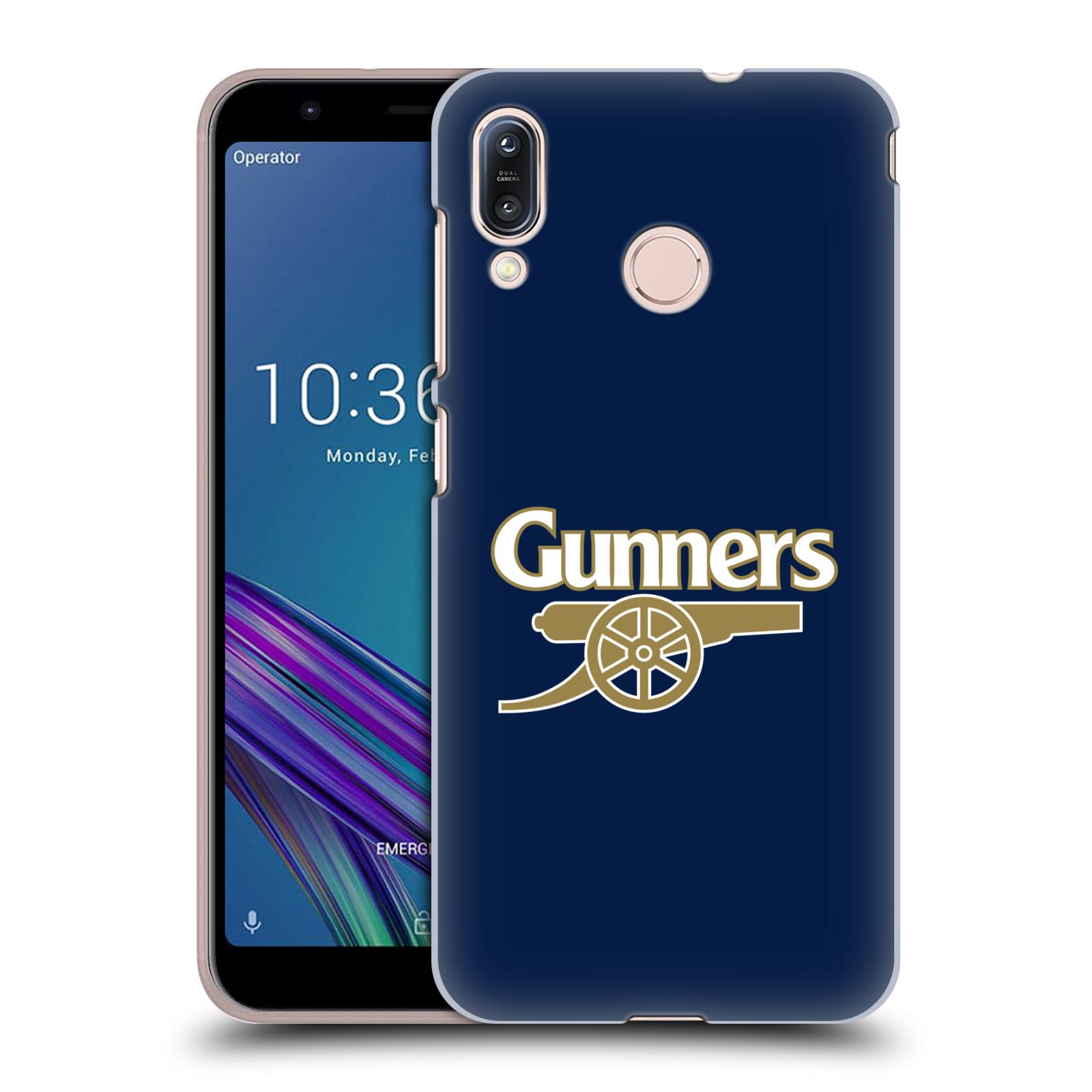Plastové pouzdro na mobil Asus Zenfone Max M1 ZB555KL - Head Case - Arsenal FC - Gunners