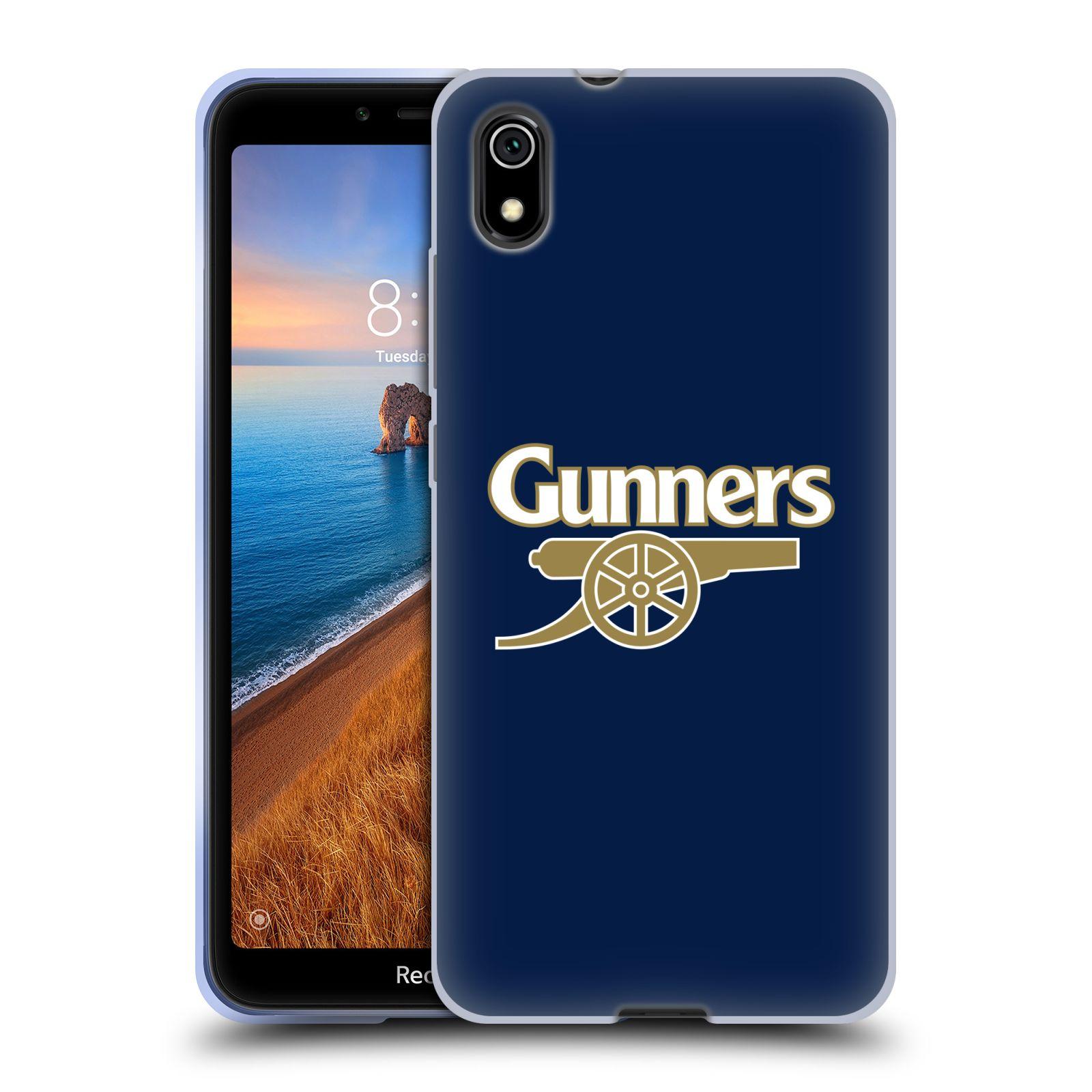 Silikonové pouzdro na mobil Redmi 7A - Head Case - Arsenal FC - Gunners