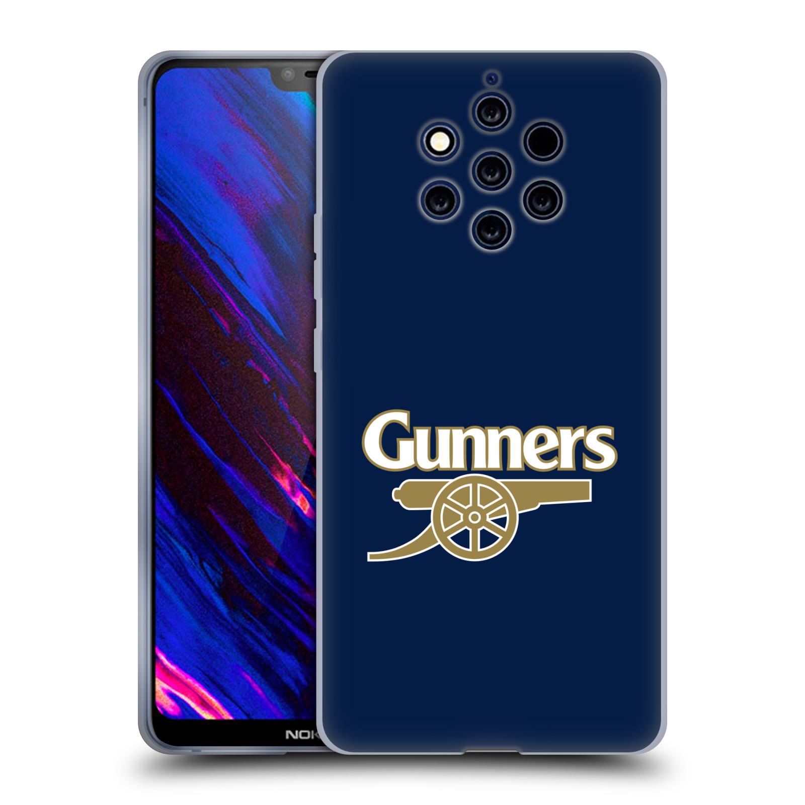 Silikonové pouzdro na mobil Nokia 9 PureView - Head Case - Arsenal FC - Gunners