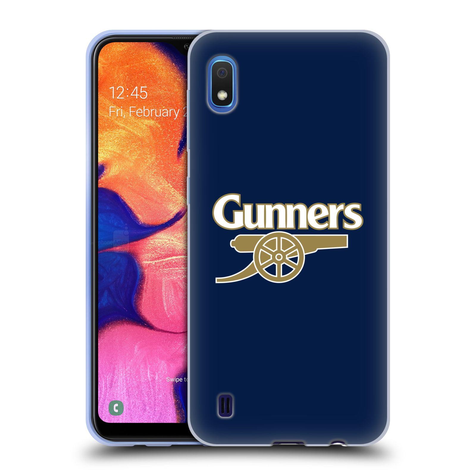 Silikonové pouzdro na mobil Samsung Galaxy A10 - Head Case - Arsenal FC - Gunners