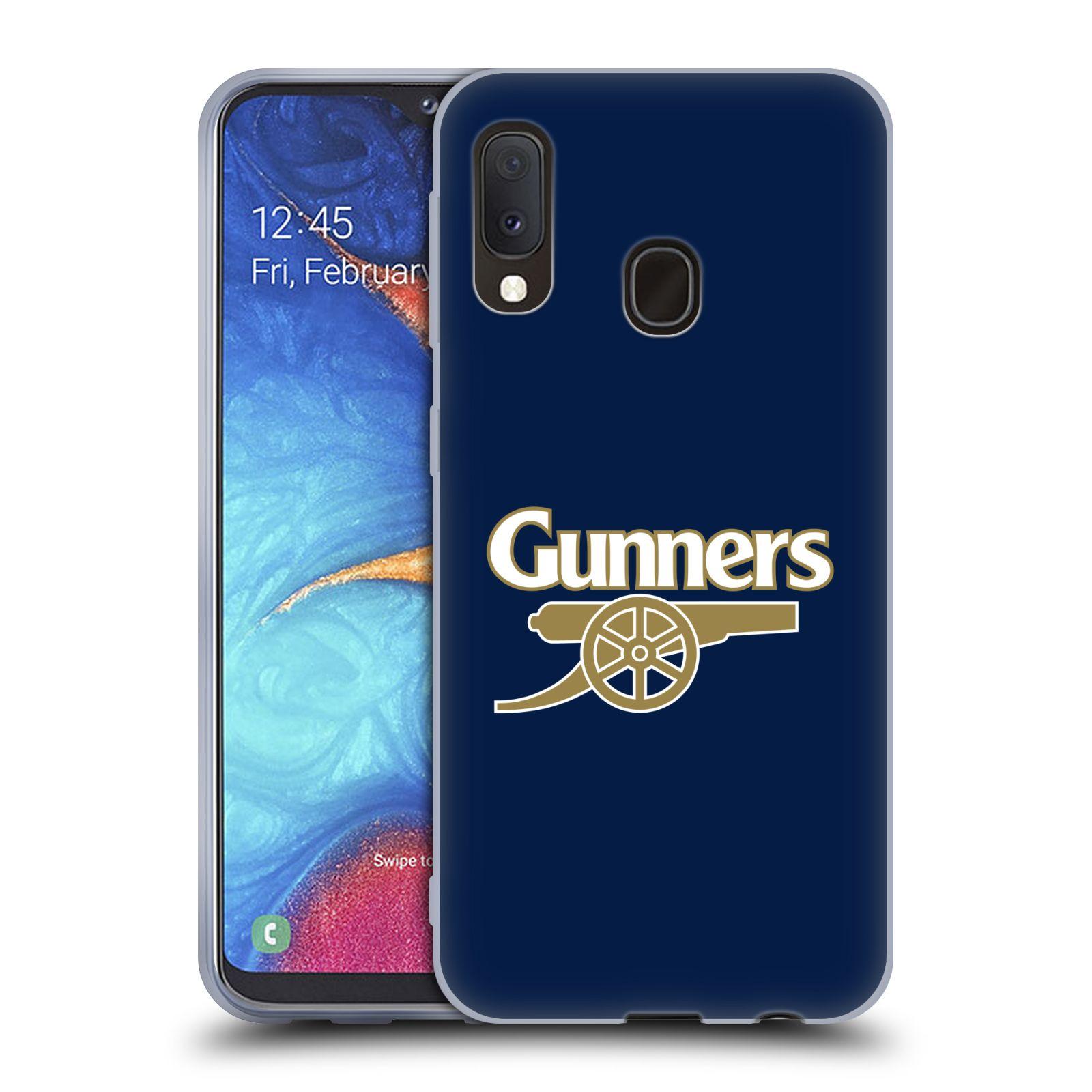 Silikonové pouzdro na mobil Samsung Galaxy A20e - Head Case - Arsenal FC - Gunners