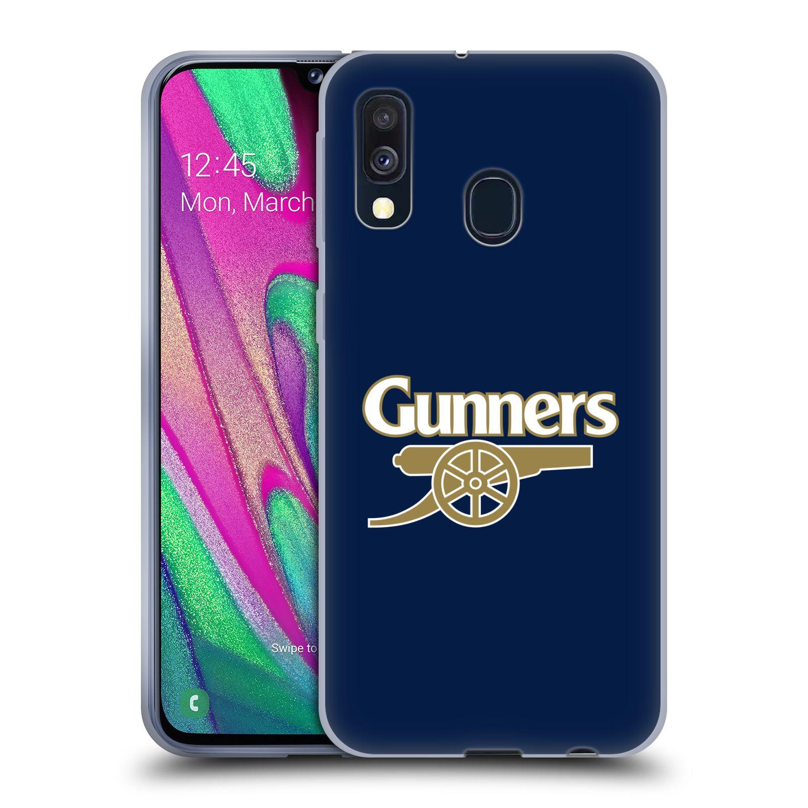 Silikonové pouzdro na mobil Samsung Galaxy A40 - Head Case - Arsenal FC - Gunners