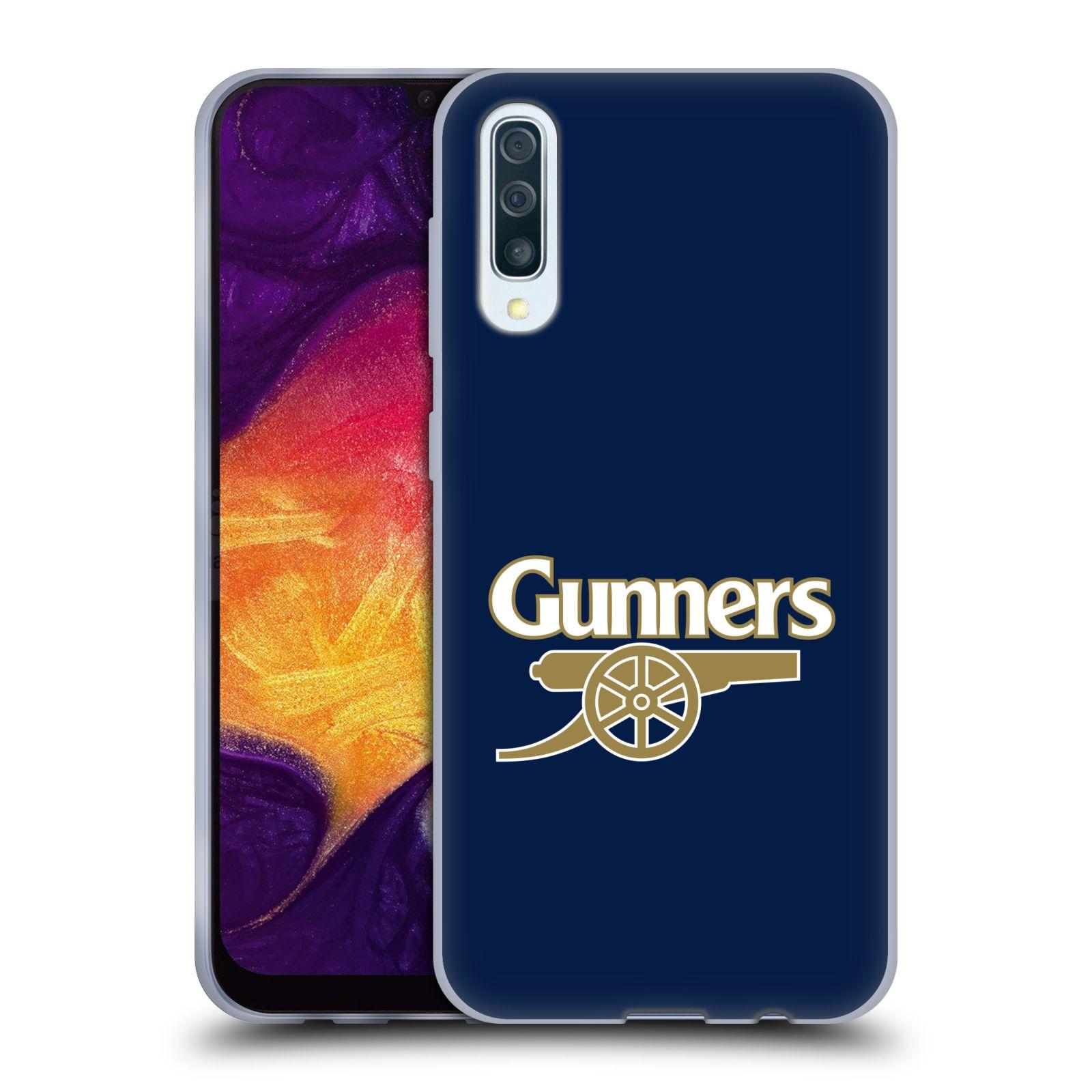 Silikonové pouzdro na mobil Samsung Galaxy A50 / A30s - Head Case - Arsenal FC - Gunners