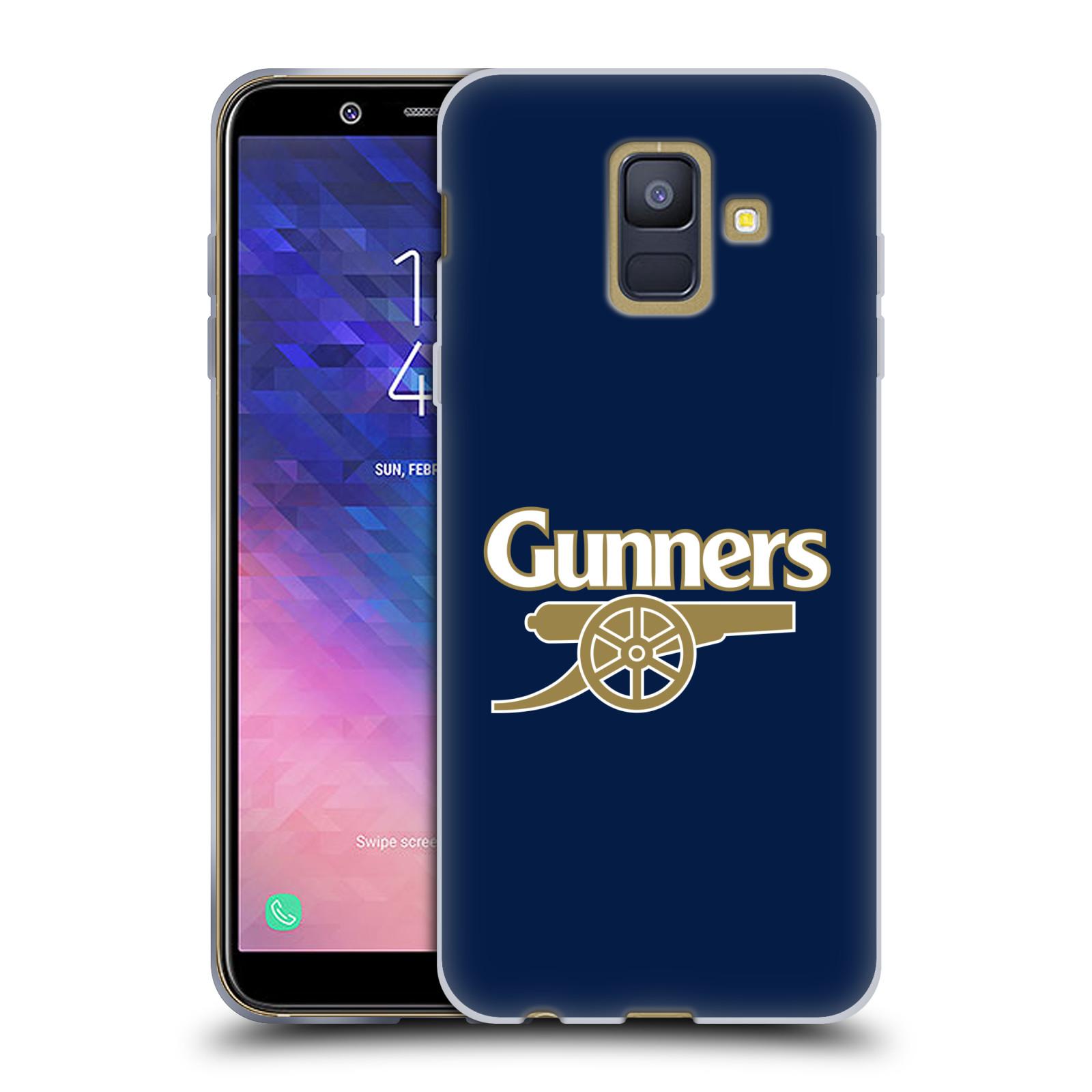 Silikonové pouzdro na mobil Samsung Galaxy A6 (2018) - Head Case - Arsenal FC - Gunners