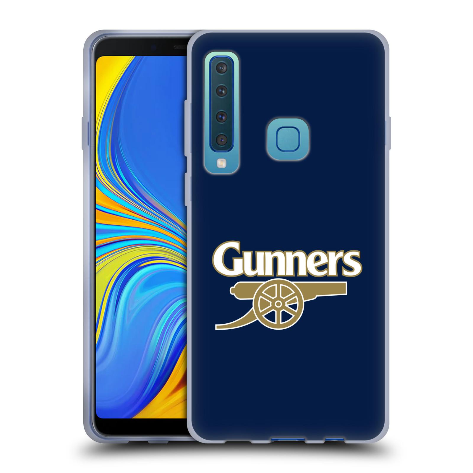 Silikonové pouzdro na mobil Samsung Galaxy A9 (2018) - Head Case - Arsenal FC - Gunners