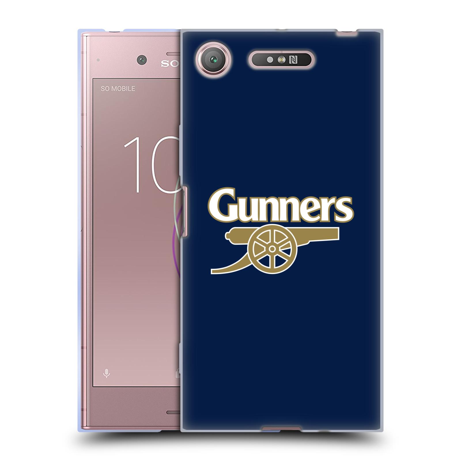 Silikonové pouzdro na mobil Sony Xperia XZ1 - Head Case - Arsenal FC - Gunners