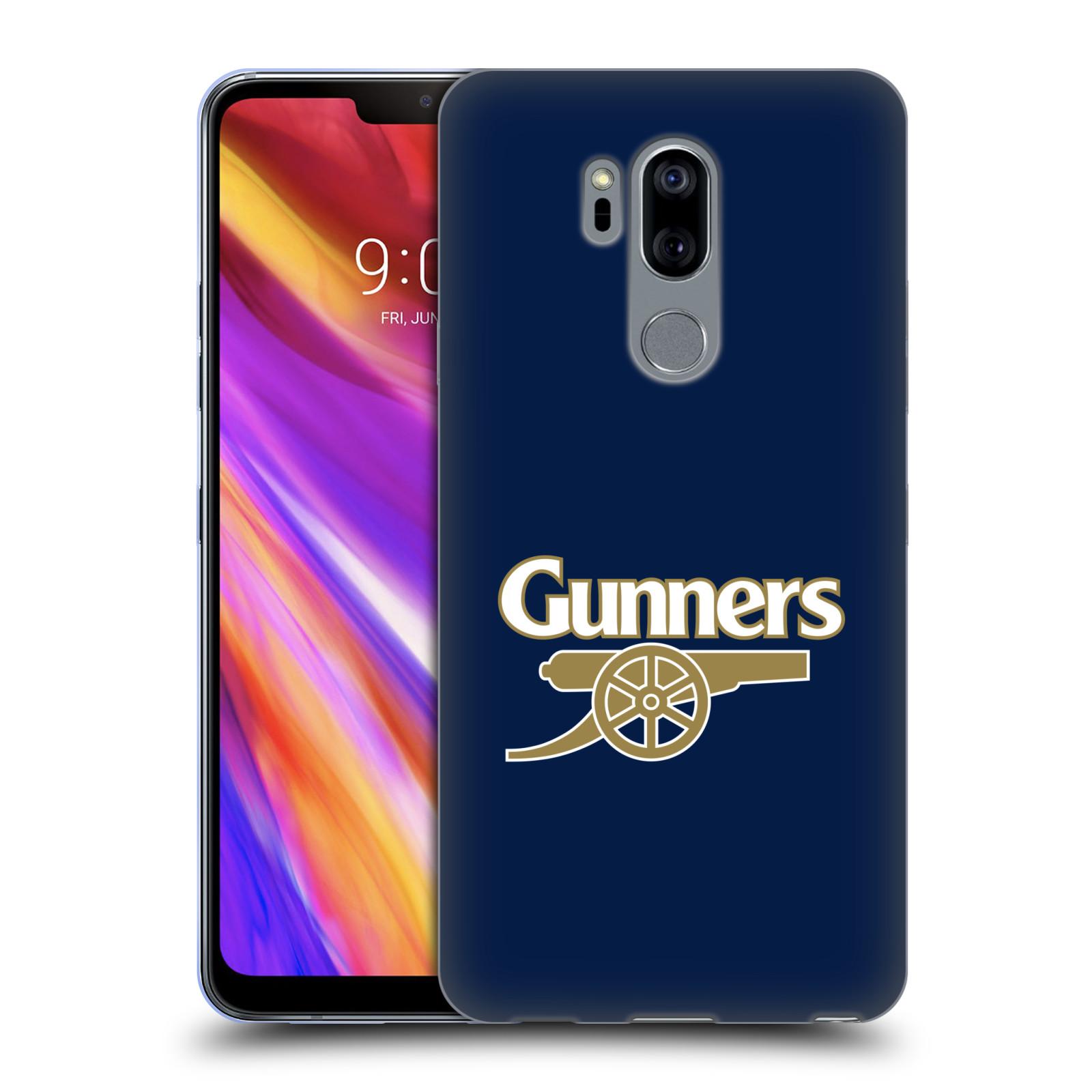 Silikonové pouzdro na mobil LG G7 ThinQ - Head Case - Arsenal FC - Gunners