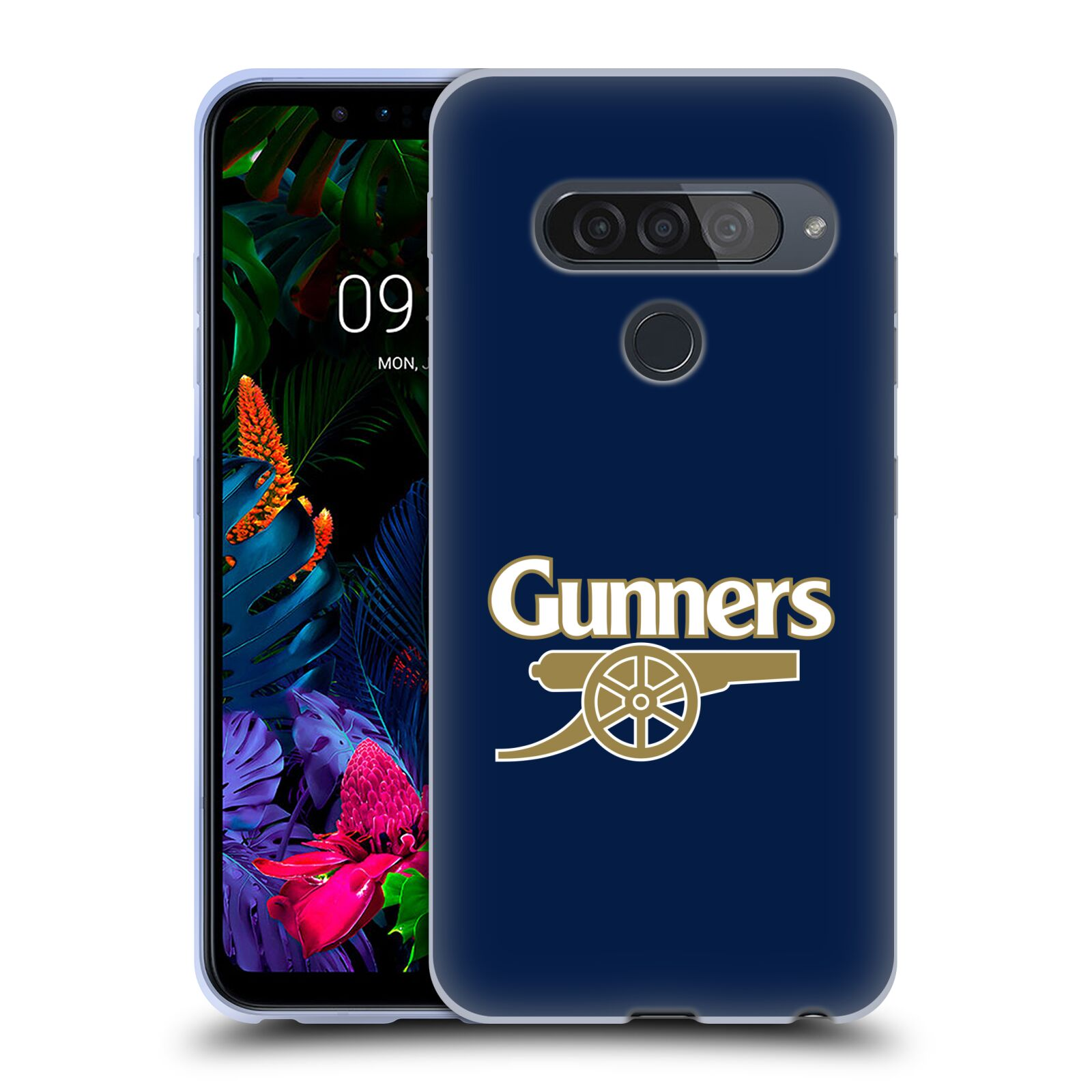 Silikonové pouzdro na mobil LG G8s ThinQ - Head Case - Arsenal FC - Gunners