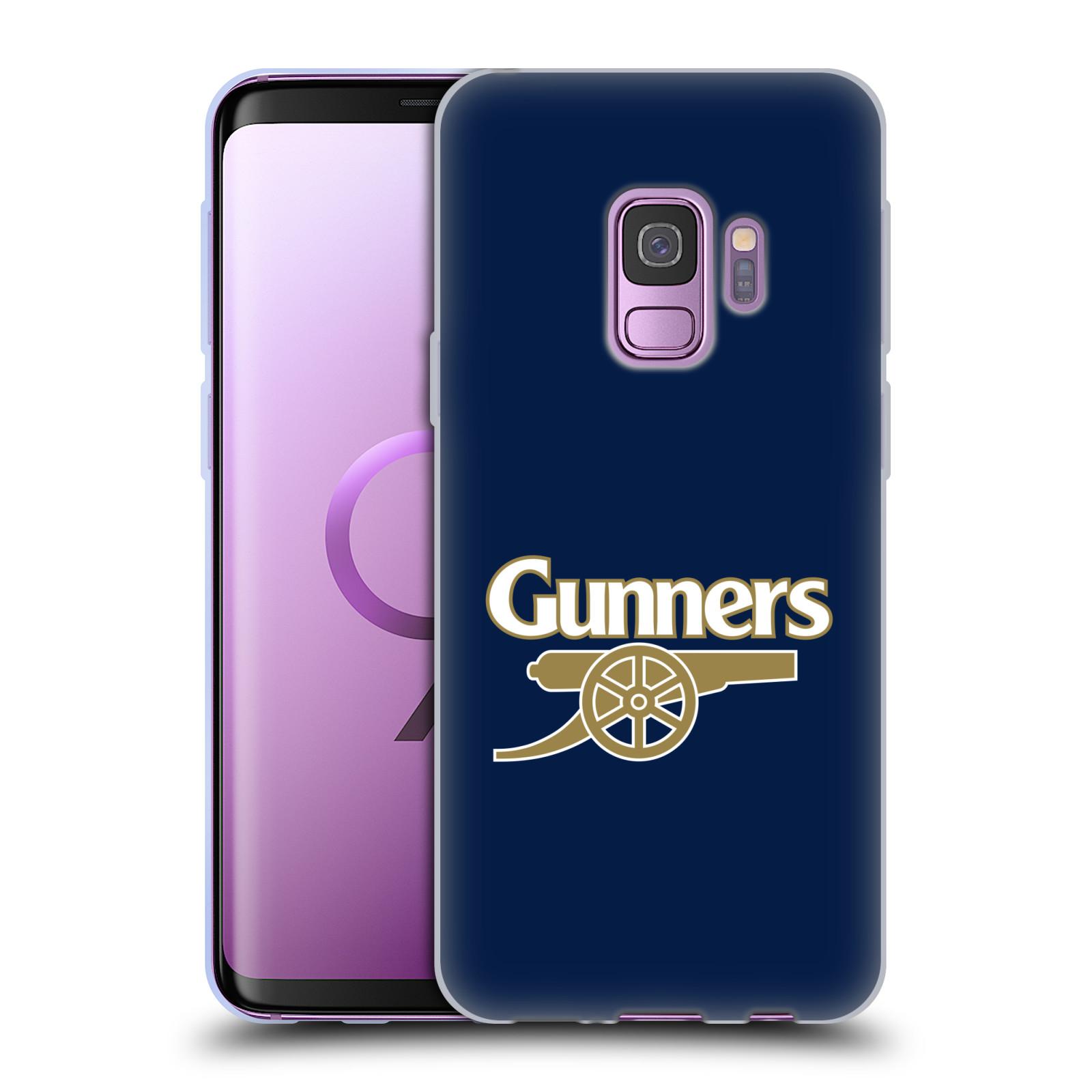 Silikonové pouzdro na mobil Samsung Galaxy S9 - Head Case - Arsenal FC - Gunners