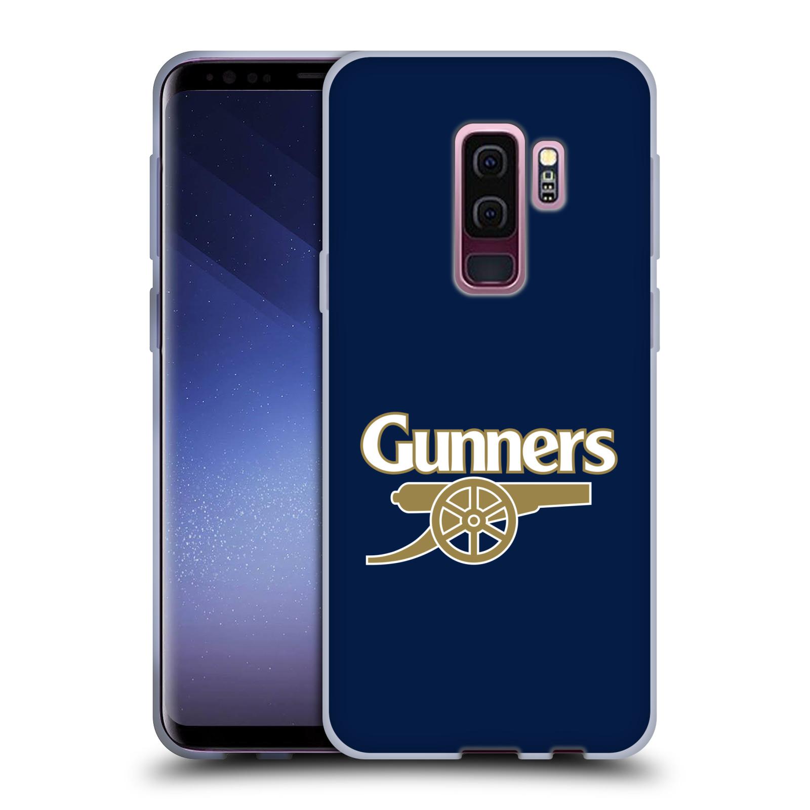 Silikonové pouzdro na mobil Samsung Galaxy S9 Plus - Head Case - Arsenal FC - Gunners
