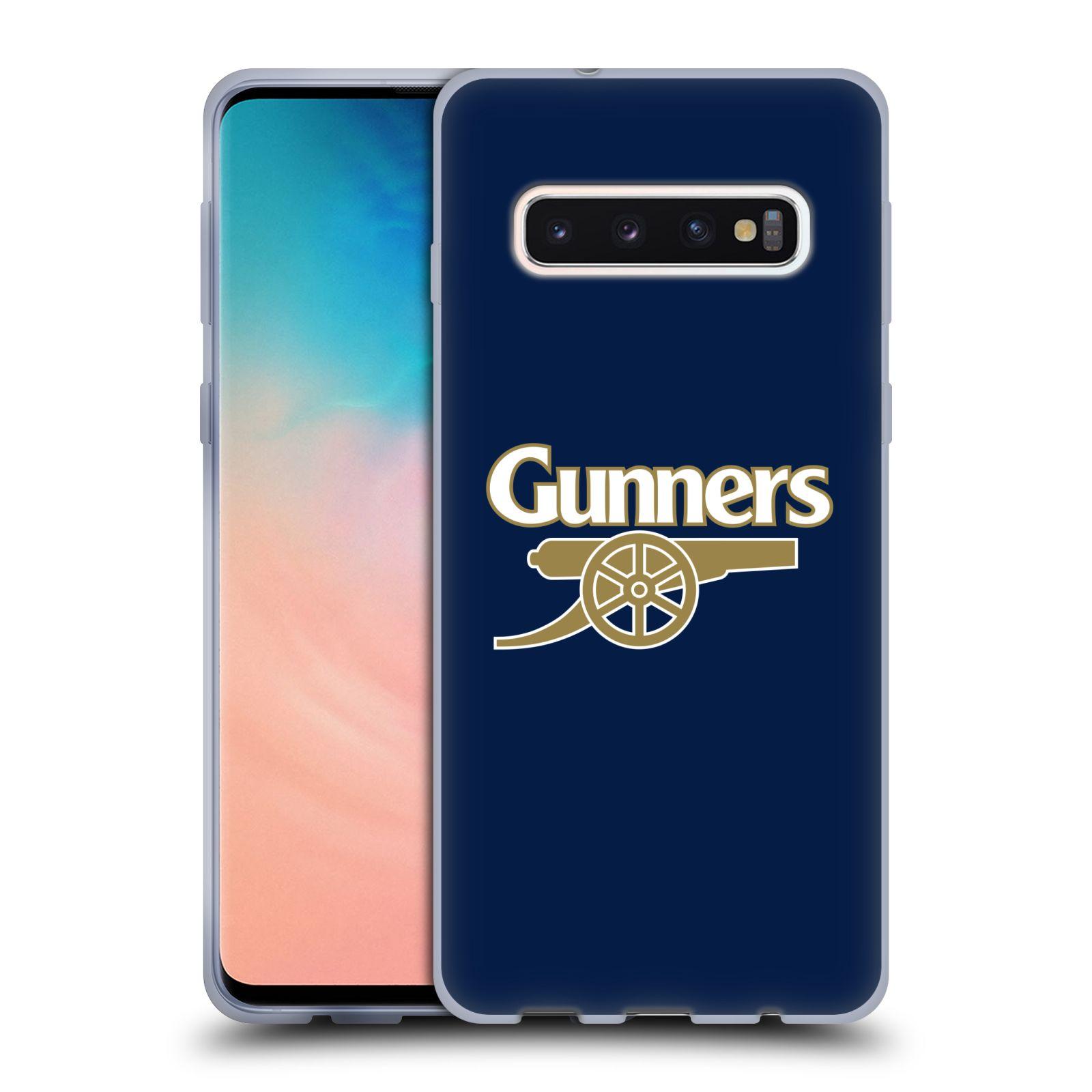 Silikonové pouzdro na mobil Samsung Galaxy S10 - Head Case - Arsenal FC - Gunners