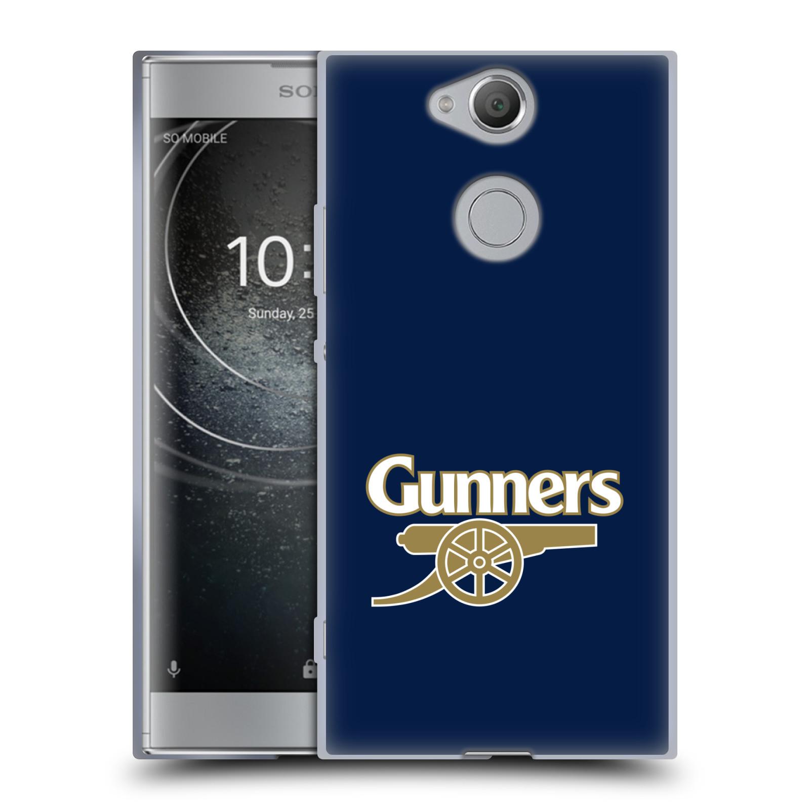 Silikonové pouzdro na mobil Sony Xperia XA2 - Head Case - Arsenal FC - Gunners