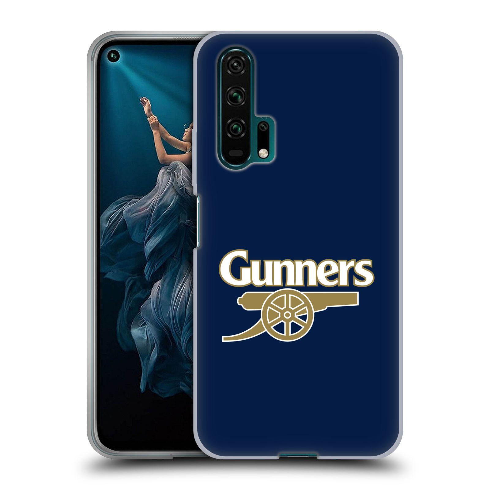Silikonové pouzdro na mobil Honor 20 Pro - Head Case - Arsenal FC - Gunners