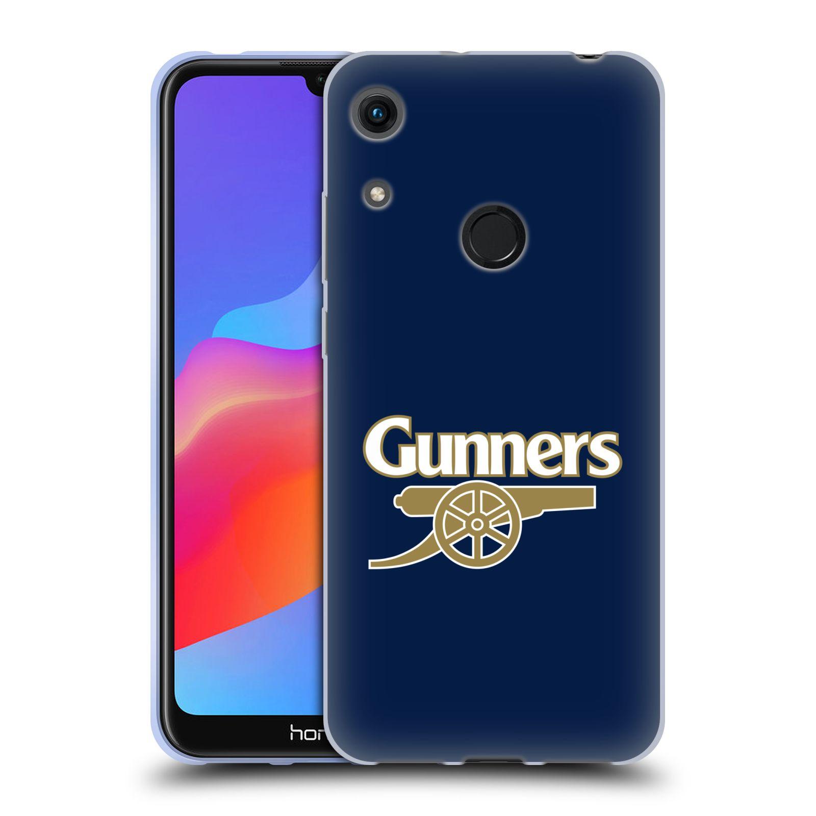 Silikonové pouzdro na mobil Honor 8A - Head Case - Arsenal FC - Gunners