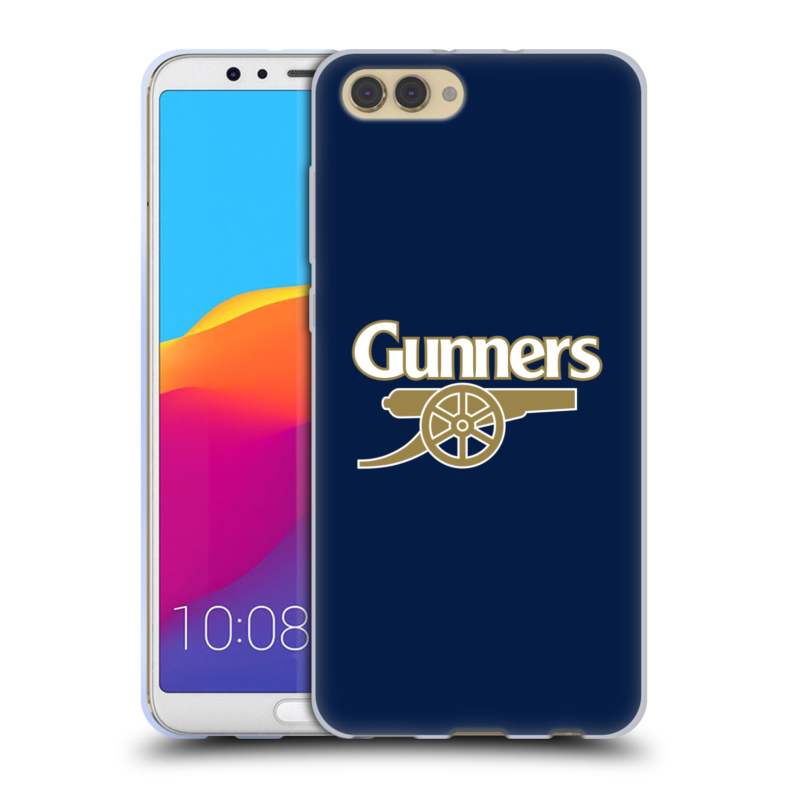 Silikonové pouzdro na mobil Honor View 10 - Head Case - Arsenal FC - Gunners