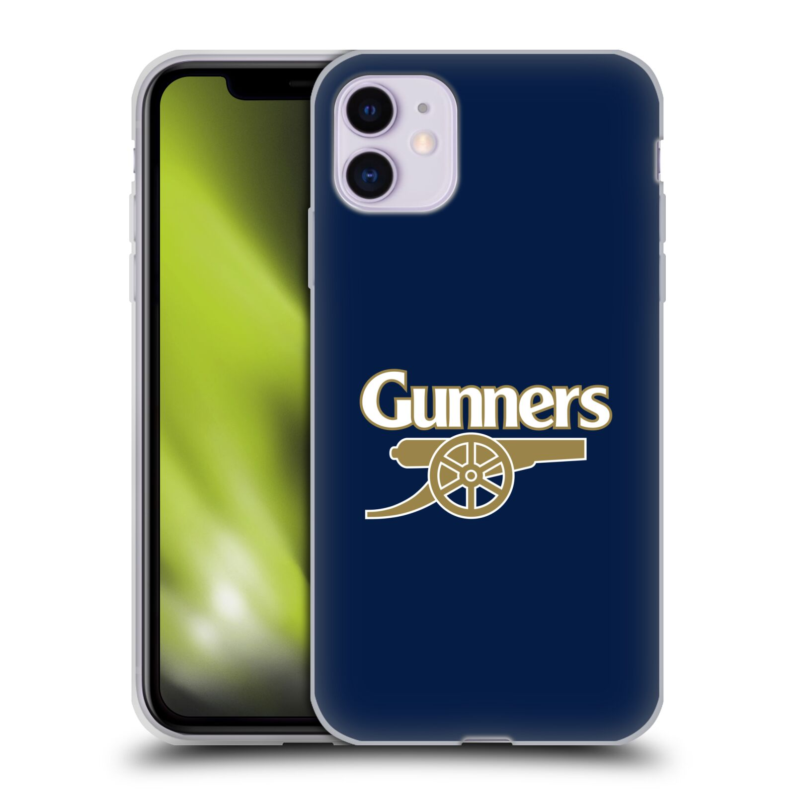 Silikonové pouzdro na mobil Apple iPhone 11 - Head Case - Arsenal FC - Gunners