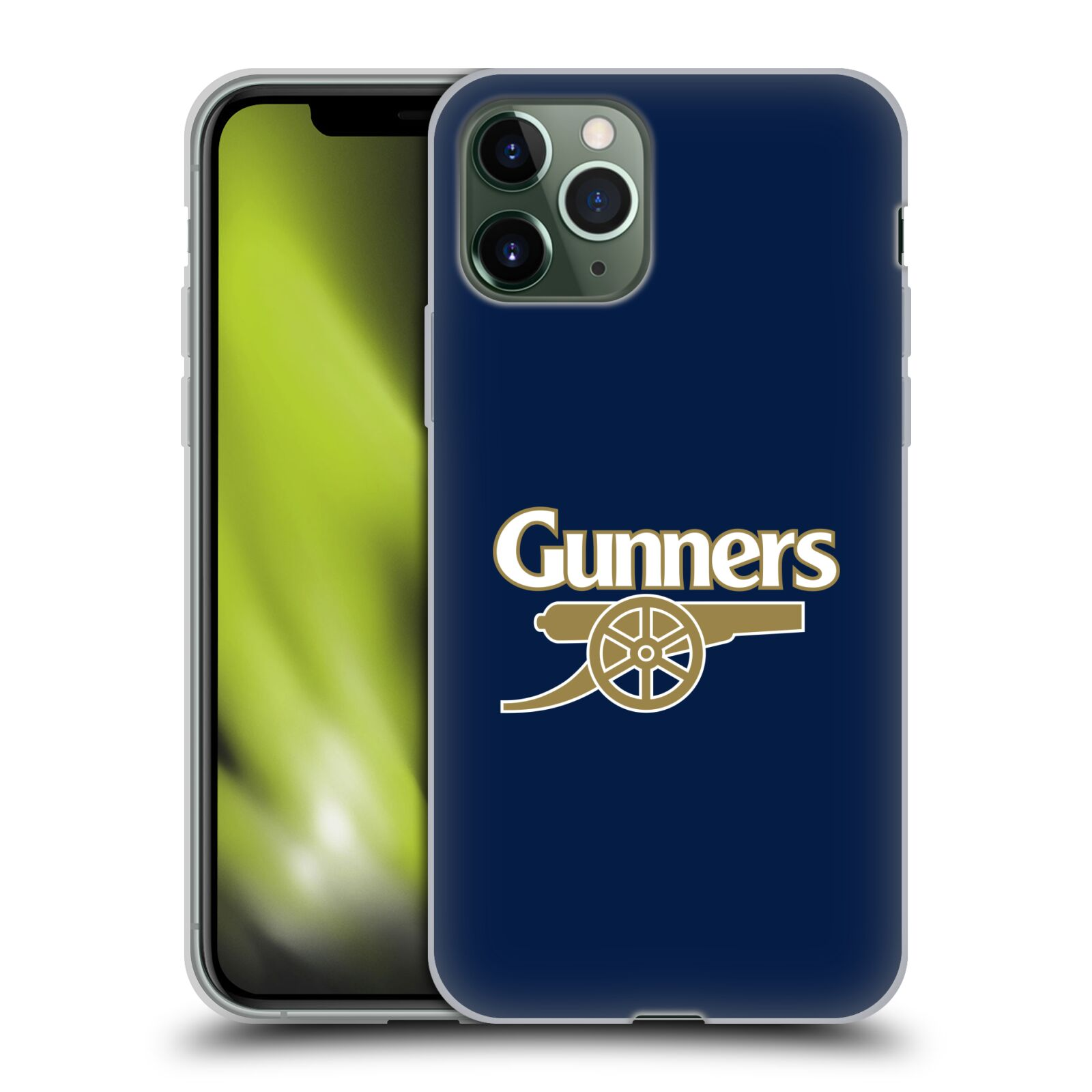 iphone x 360 kryt | Silikonové pouzdro na mobil Apple iPhone 11 Pro - Head Case - Arsenal FC - Gunners