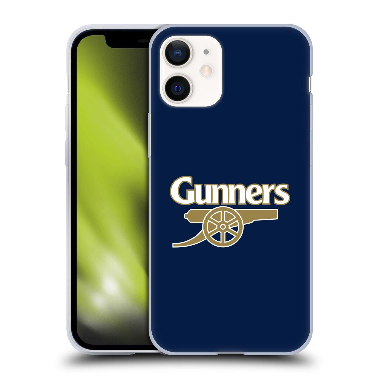 Silikonové pouzdro na mobil Apple iPhone 12 Mini - Head Case - Arsenal FC - Gunners