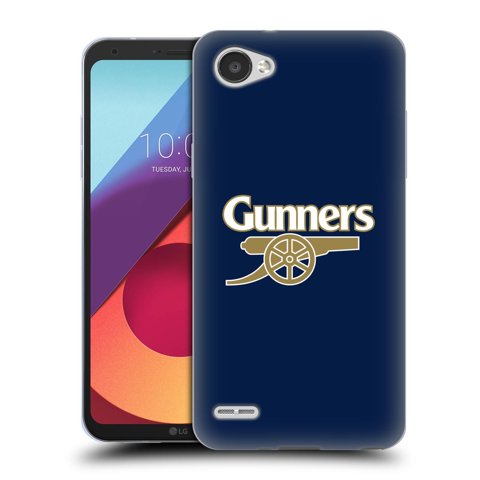 Silikonové pouzdro na mobil LG Q6 - Head Case - Arsenal FC - Gunners