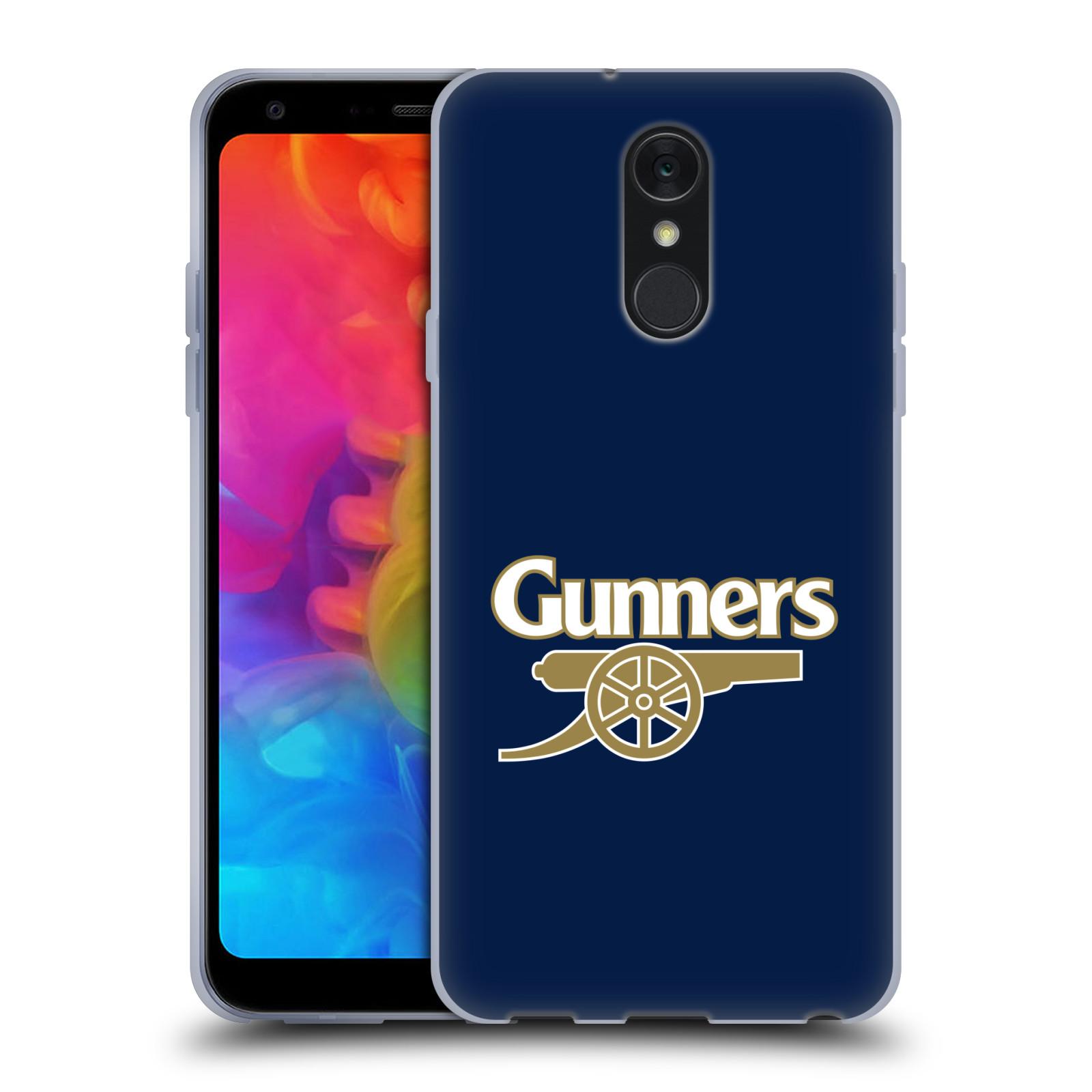 Silikonové pouzdro na mobil LG Q7 - Head Case - Arsenal FC - Gunners