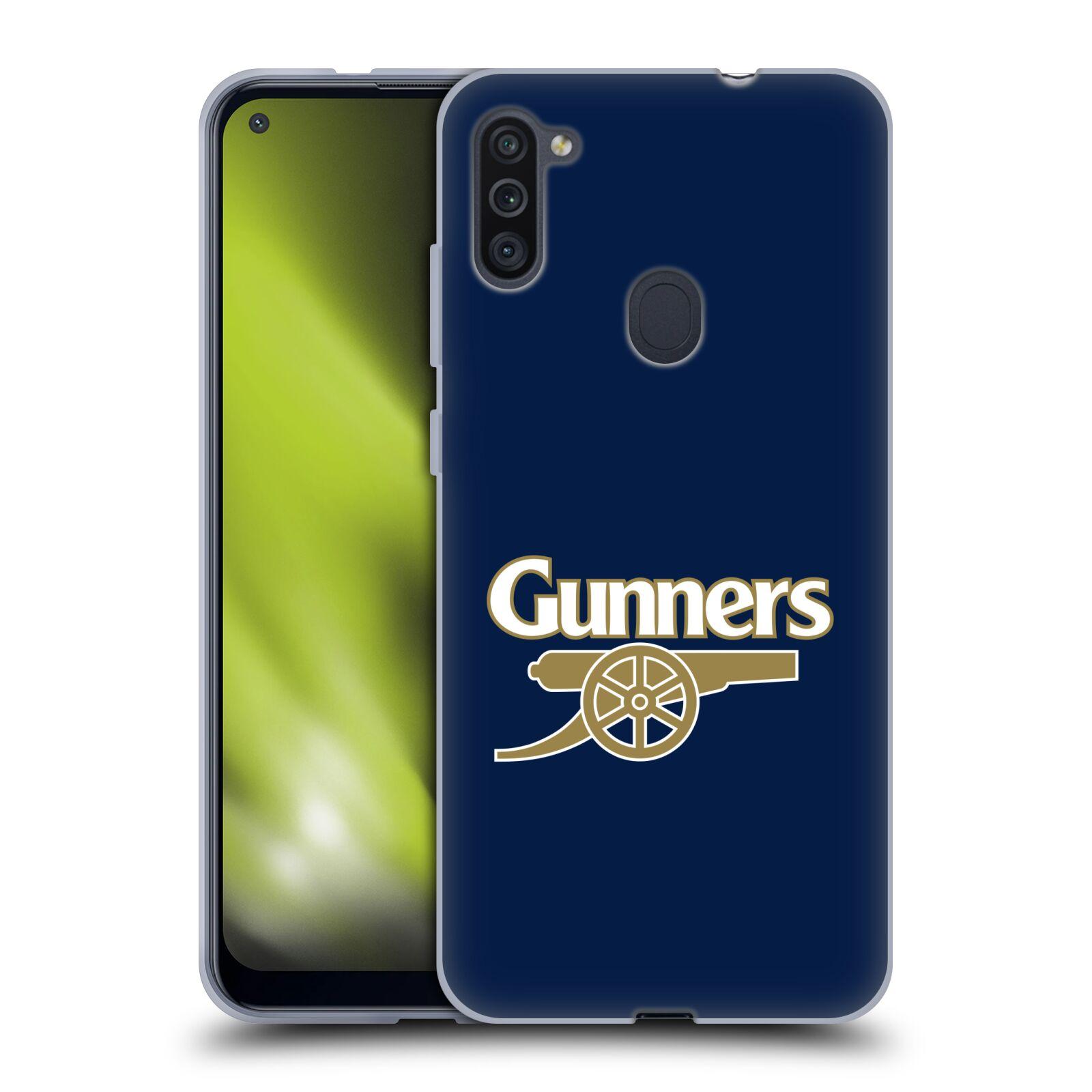 Silikonové pouzdro na mobil Samsung Galaxy M11 - Head Case - Arsenal FC - Gunners