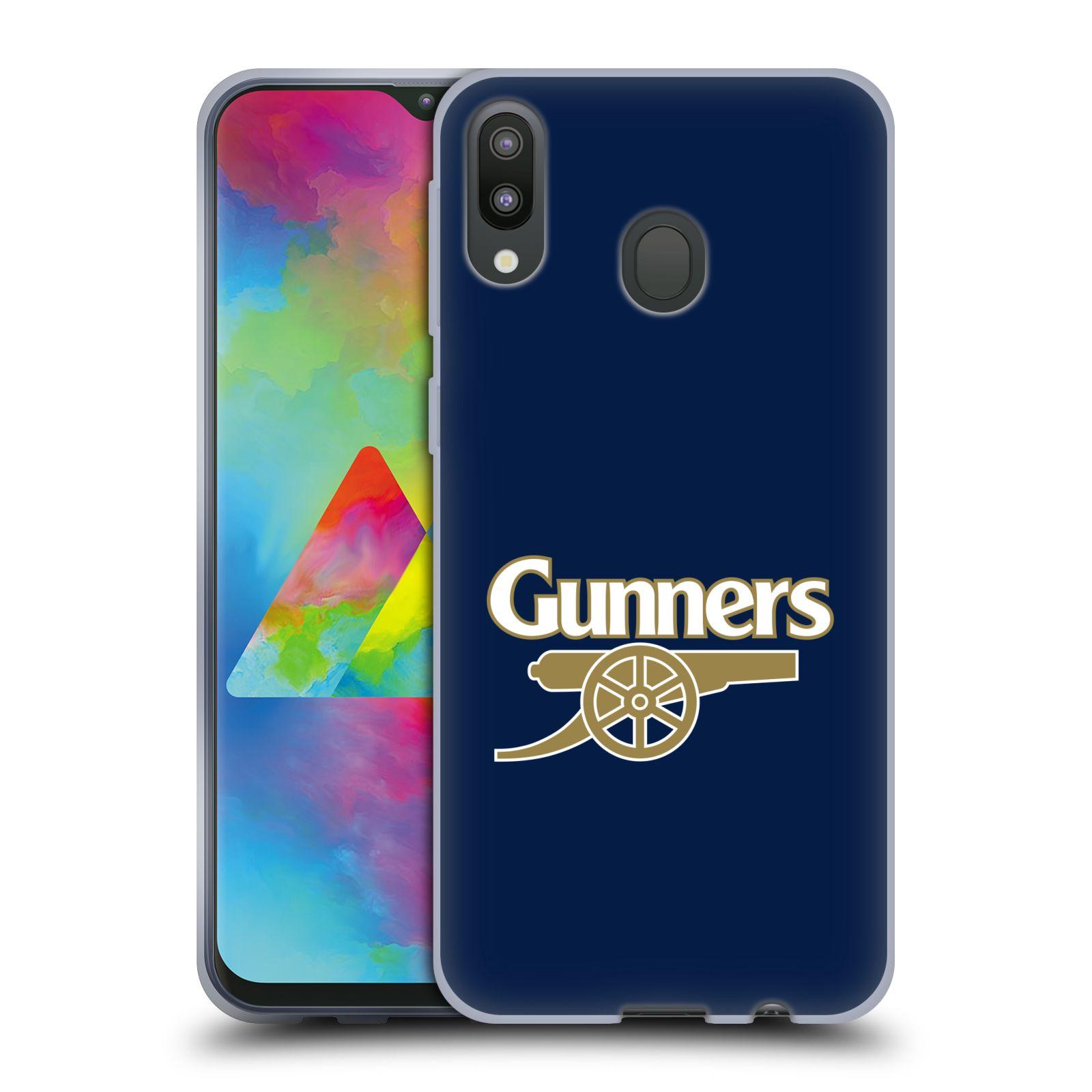 Silikonové pouzdro na mobil Samsung Galaxy M20 - Head Case - Arsenal FC - Gunners