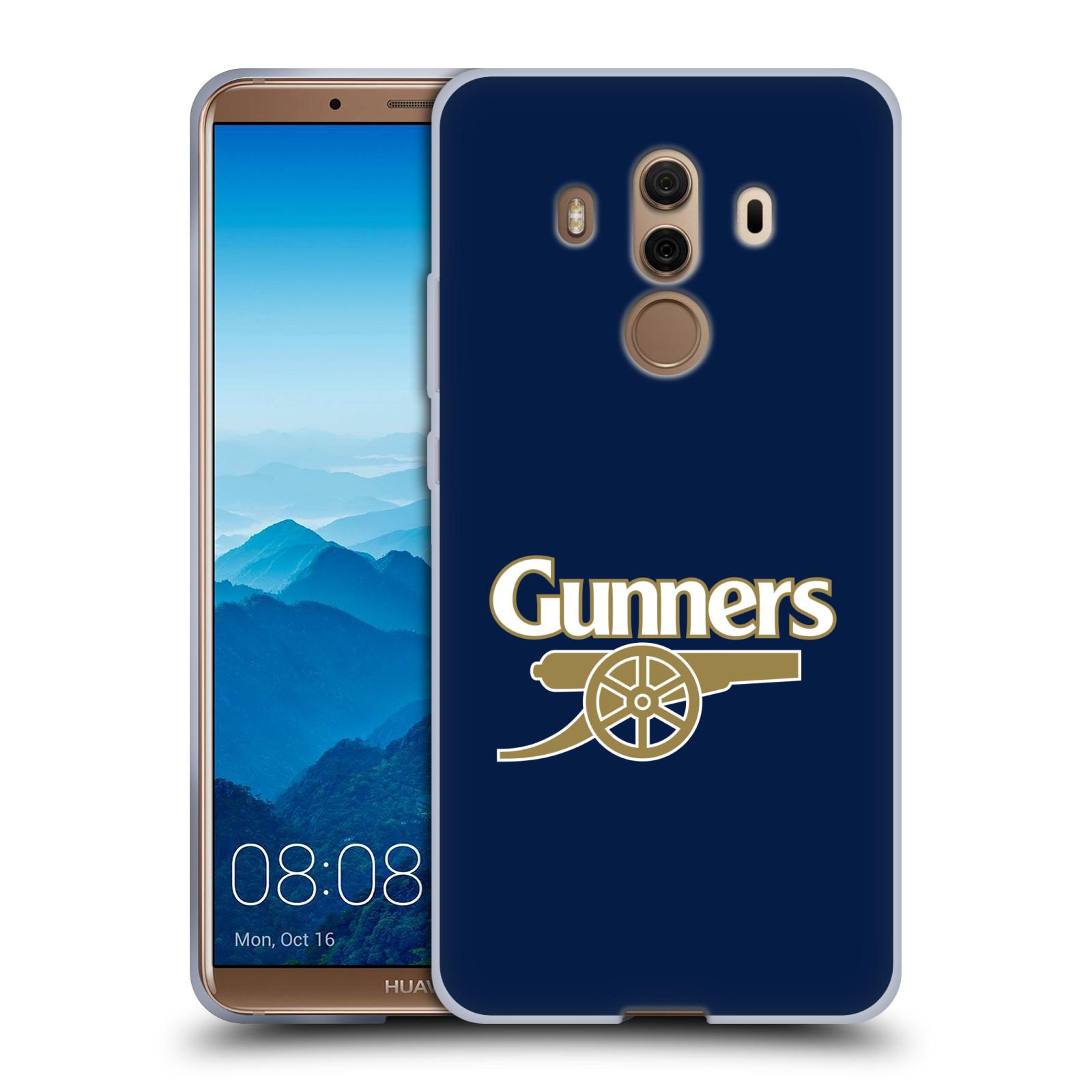 Silikonové pouzdro na mobil Huawei Mate 10 Pro - Head Case - Arsenal FC - Gunners