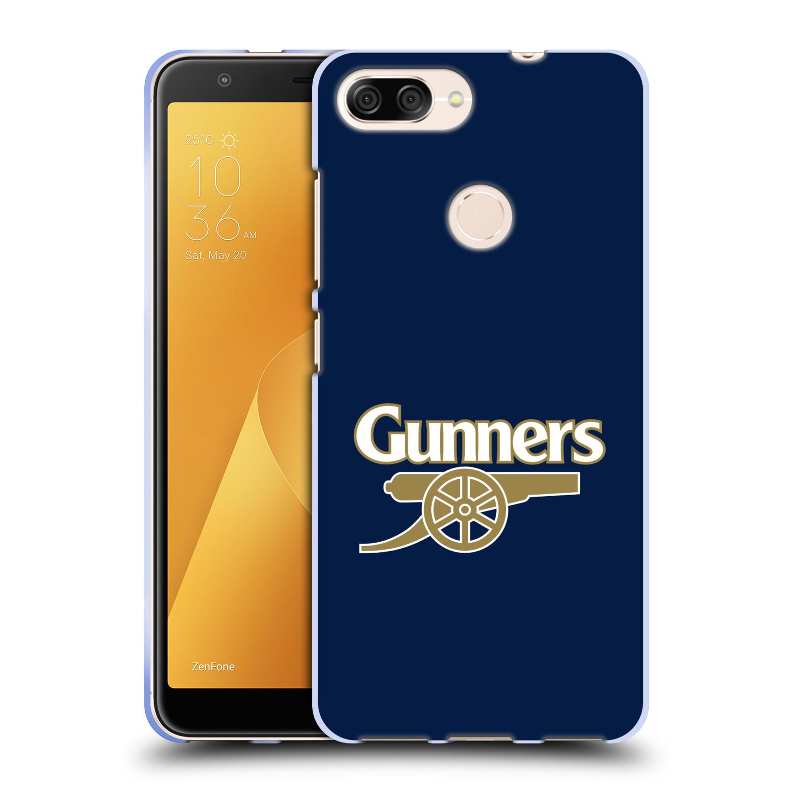 Silikonové pouzdro na mobil Asus ZenFone Max Plus (M1) - Head Case - Arsenal FC - Gunners