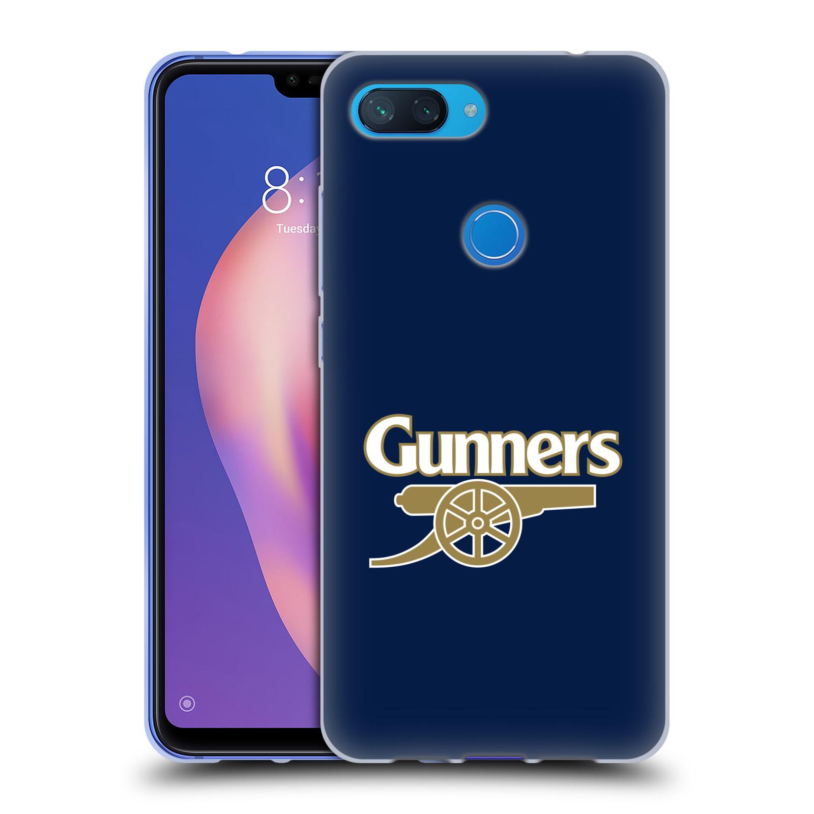 Silikonové pouzdro na mobil Xiaomi Mi 8 Lite - Head Case - Arsenal FC - Gunners