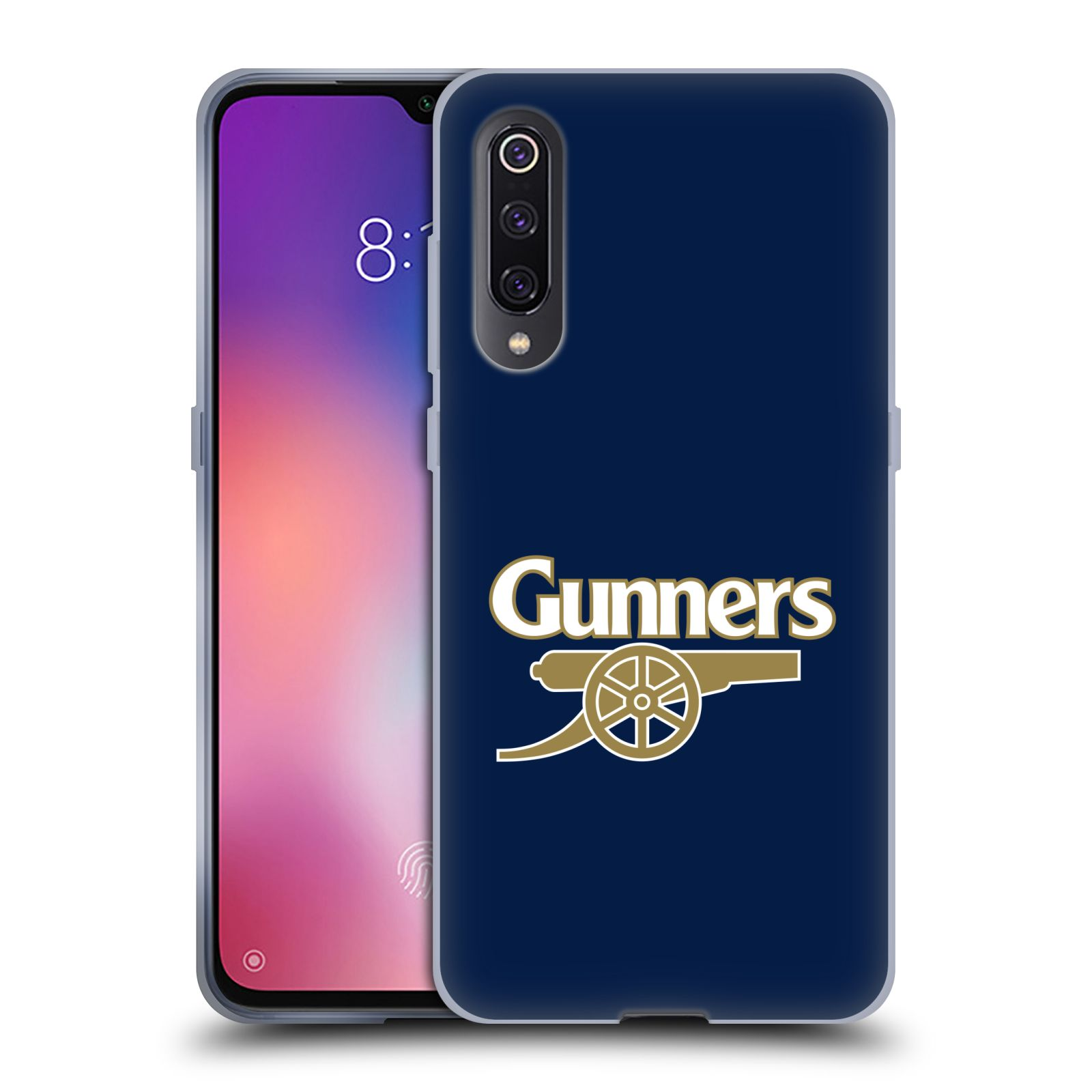 Silikonové pouzdro na mobil Xiaomi Mi 9 - Head Case - Arsenal FC - Gunners