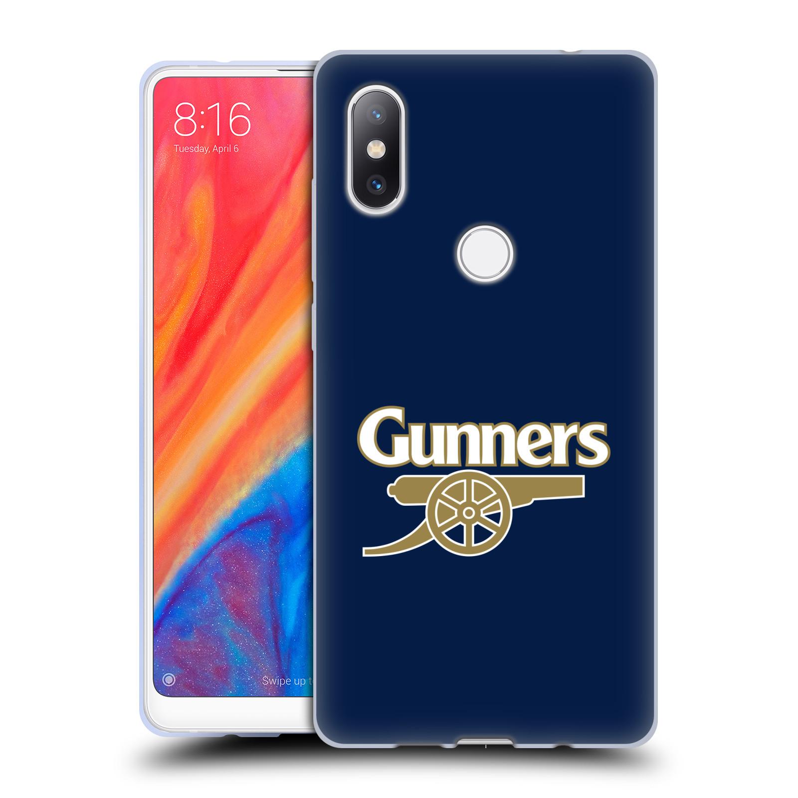 Silikonové pouzdro na mobil Xiaomi Mi Mix 2S - Head Case - Arsenal FC - Gunners