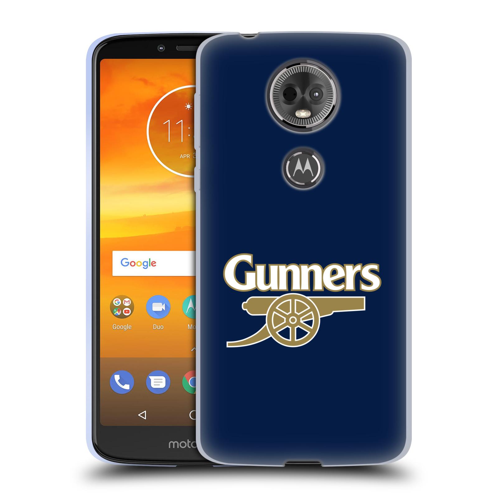 Silikonové pouzdro na mobil Motorola Moto E5 Plus - Head Case - Arsenal FC - Gunners