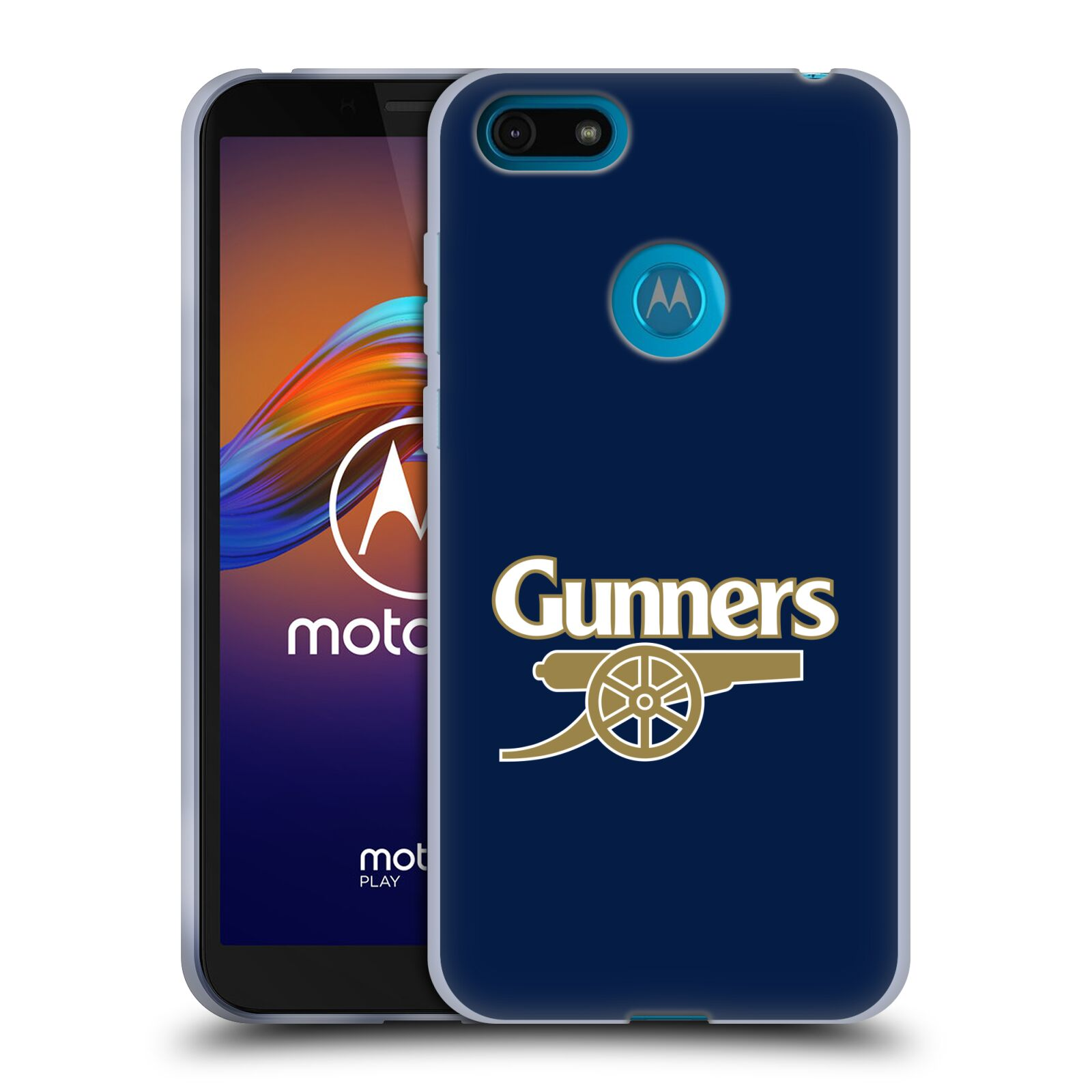 Silikonové pouzdro na mobil Motorola Moto E6 Play - Head Case - Arsenal FC - Gunners
