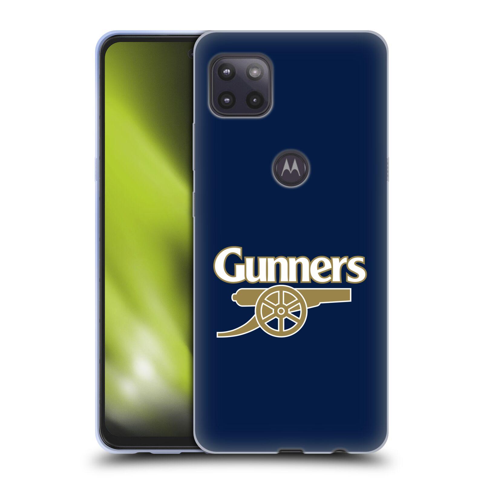 Silikonové pouzdro na mobil Motorola Moto G 5G - Head Case - Arsenal FC - Gunners
